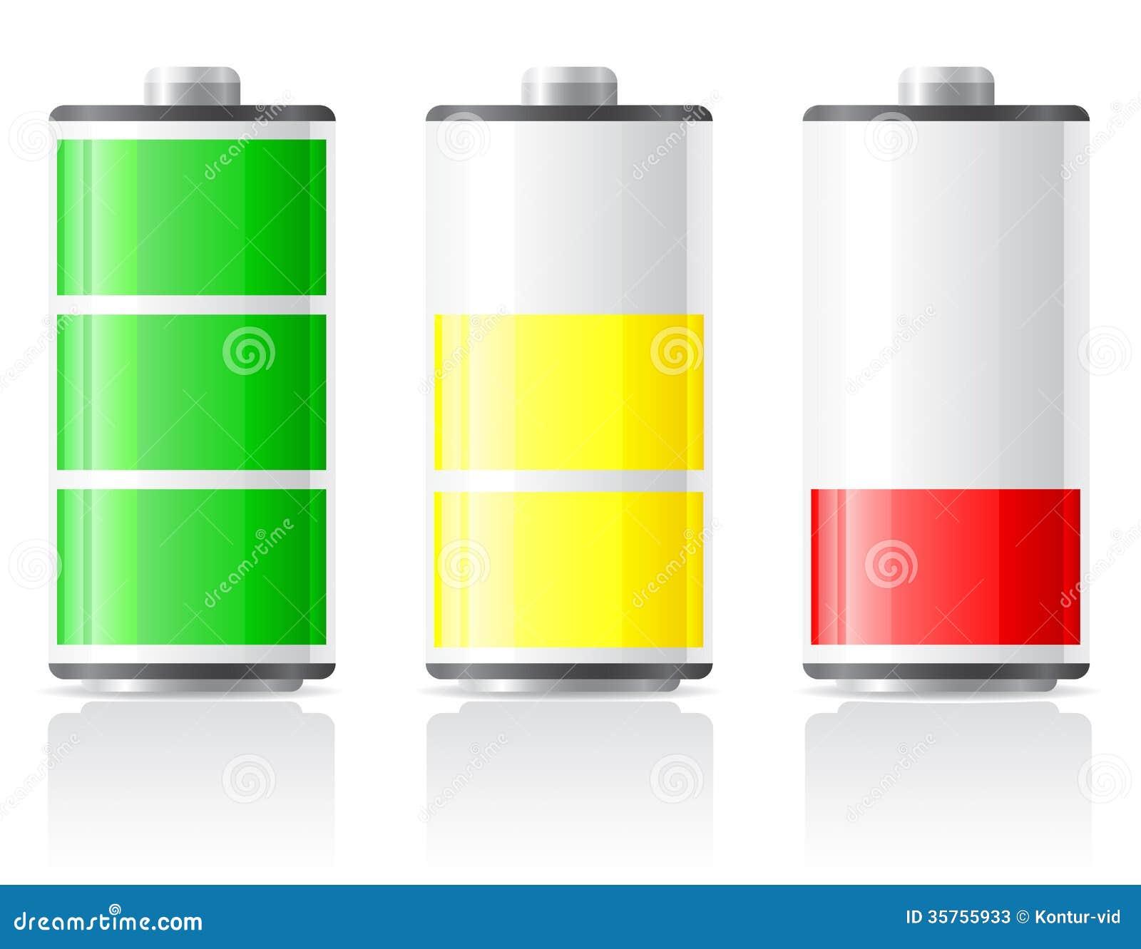icons charge battery illustration stock illustration image 35755933. Black Bedroom Furniture Sets. Home Design Ideas