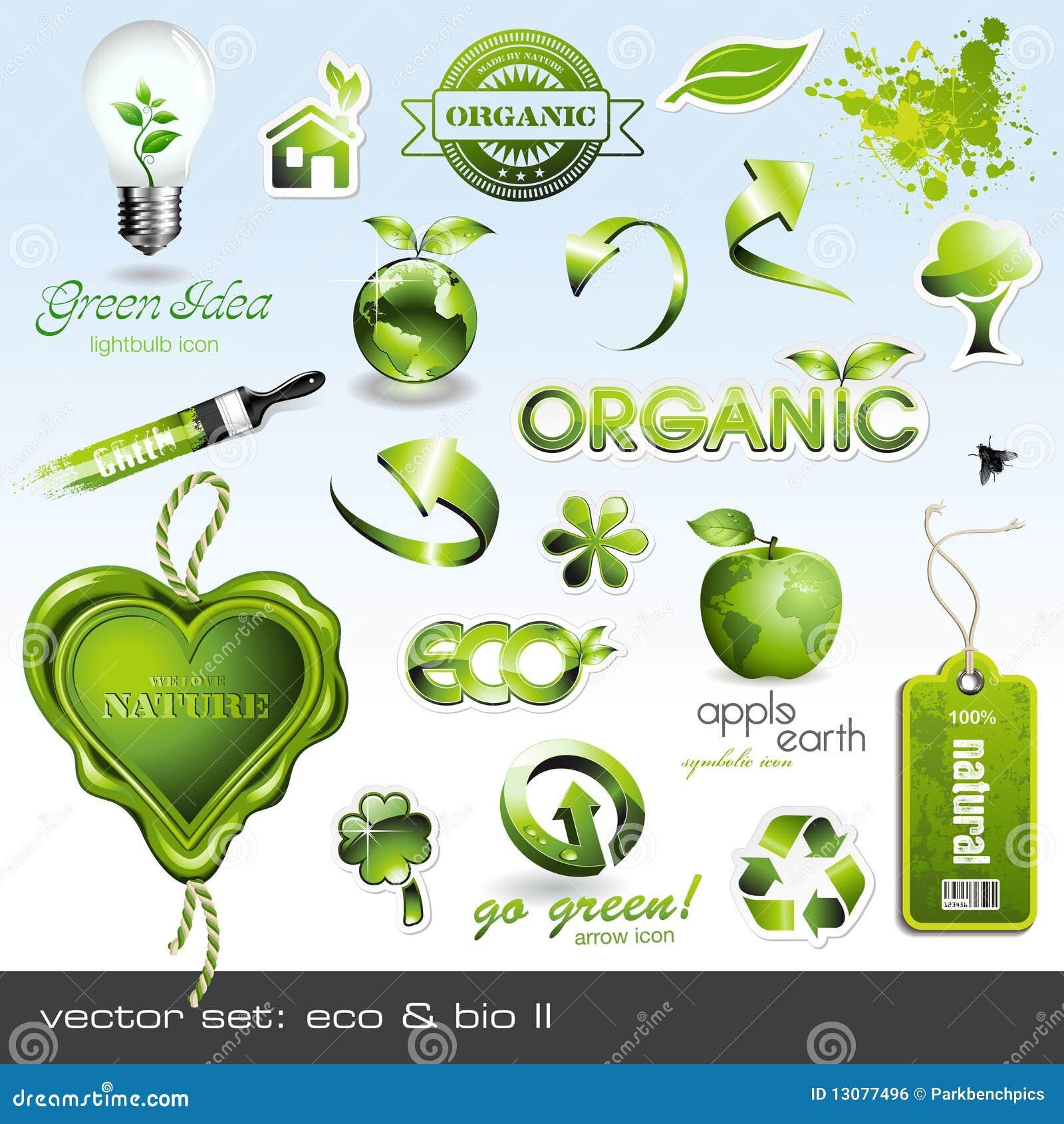Icons: eco & bio II