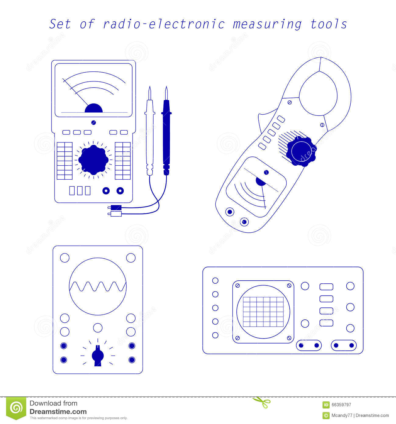 Instrument Current Electricity : Analogue multimeter royalty free stock photography