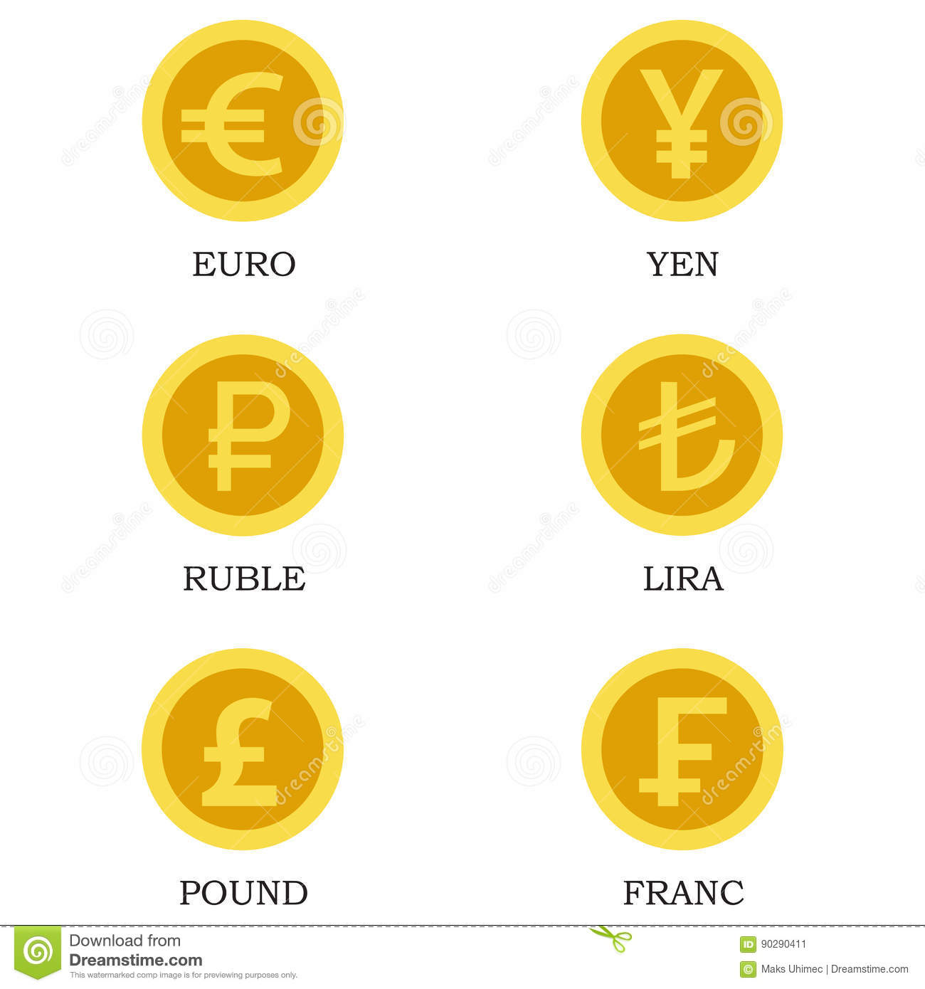 Icons of gold coins with images of currencies of different icons of gold coins with images of currencies of different countries biocorpaavc