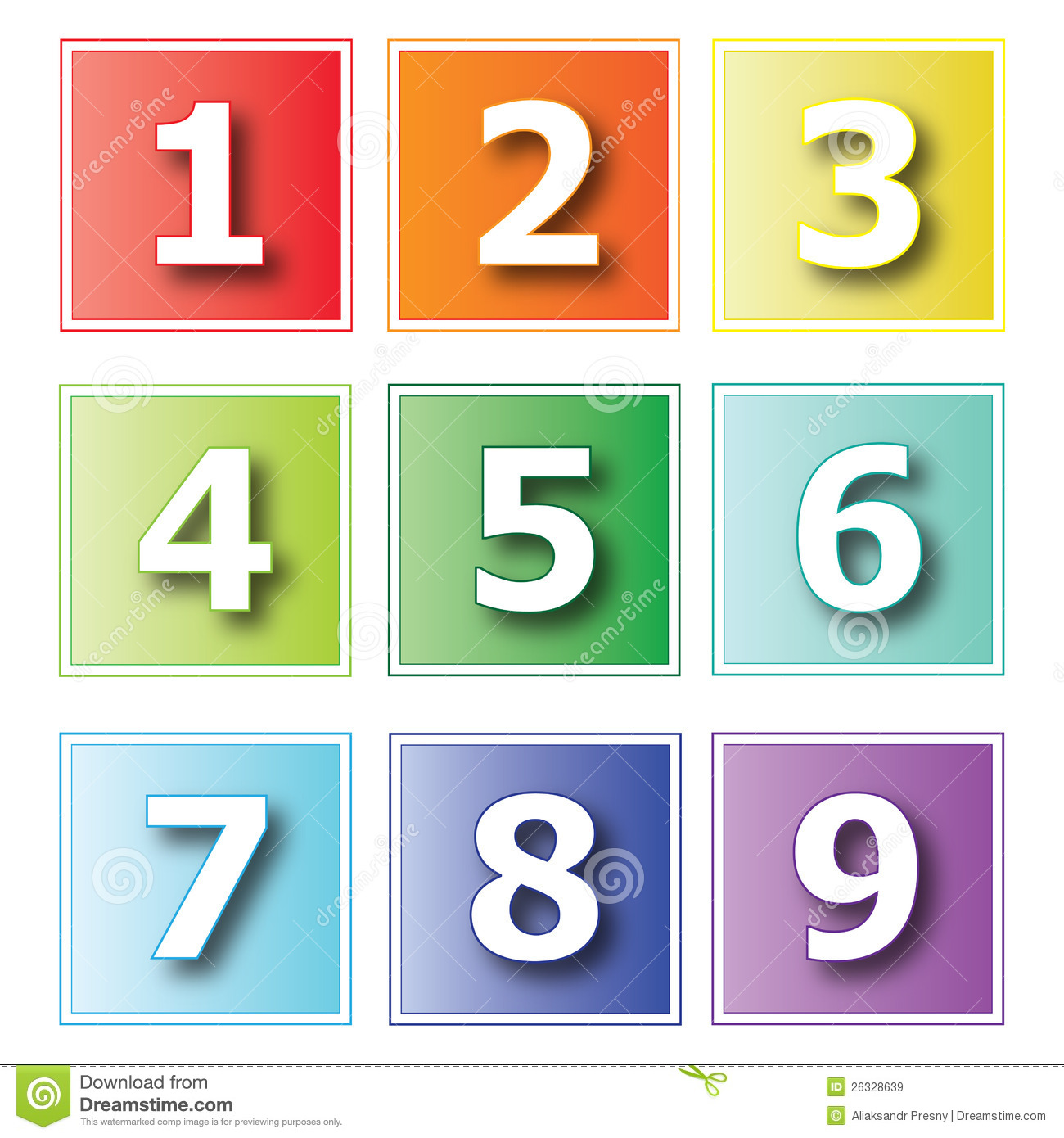 Icons Numbers Royalty Free Stock Images - Image: 26328639: www.dreamstime.com/royalty-free-stock-images-icons-numbers...