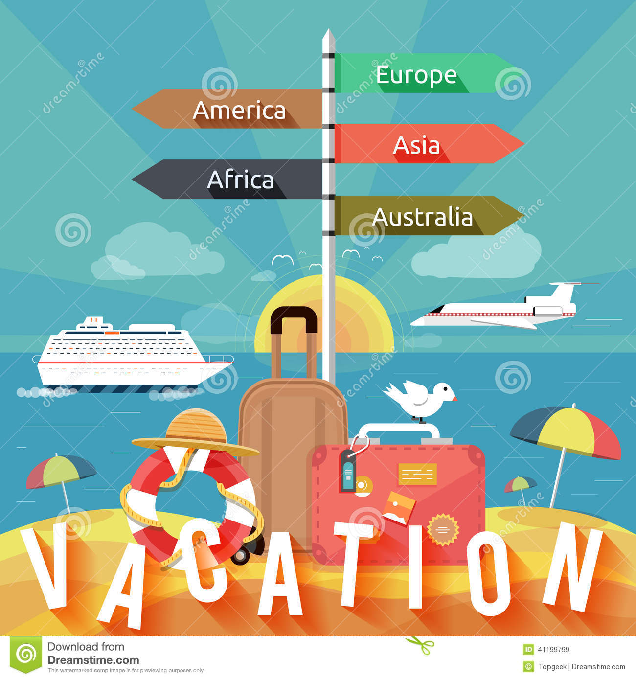 types of vacation How family travel personalities can influence the planning and success of your next family vacation.