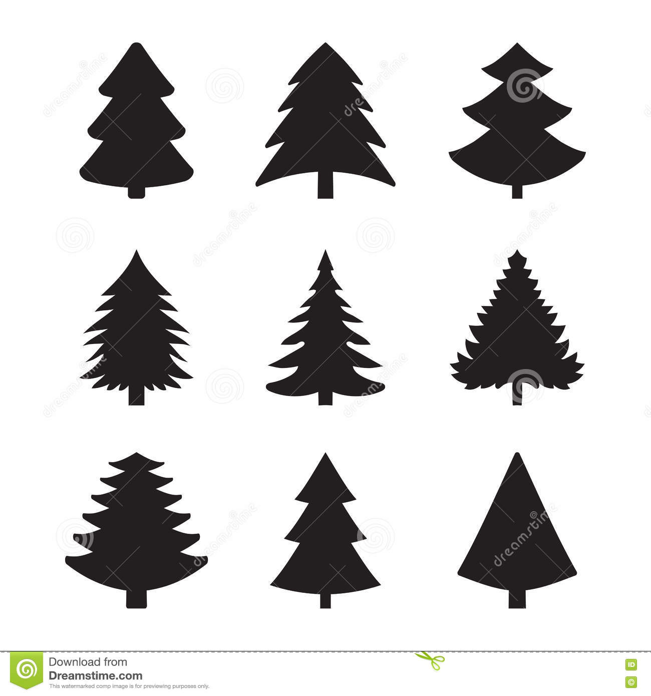 Icons spruce stock vector illustration of celebrate 74625005 icons spruce biocorpaavc Image collections