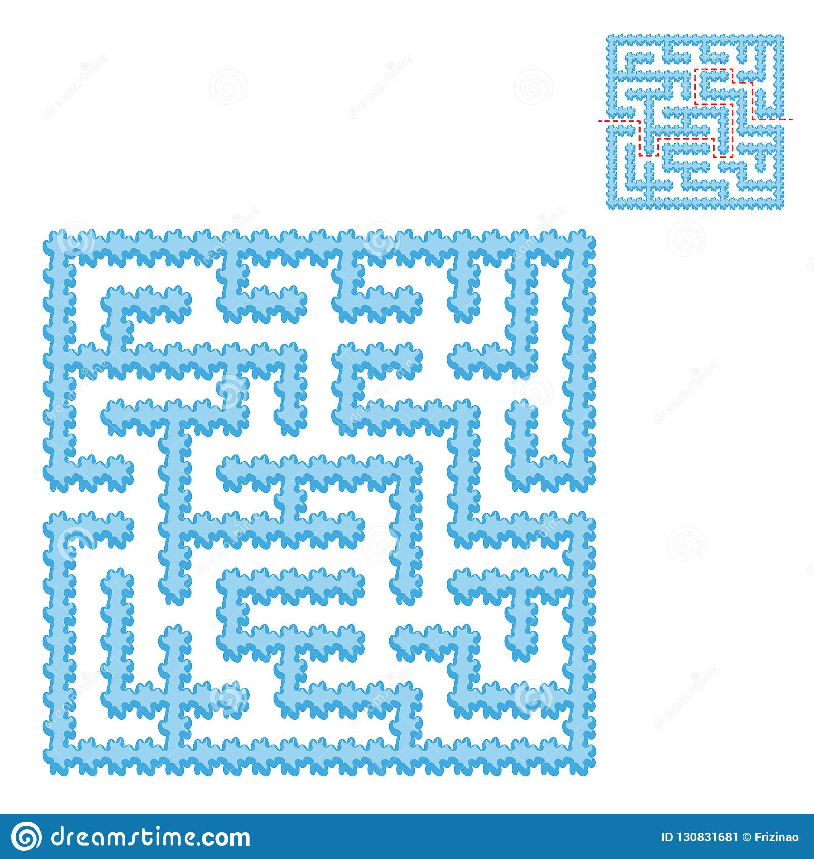 Blue Square Game
