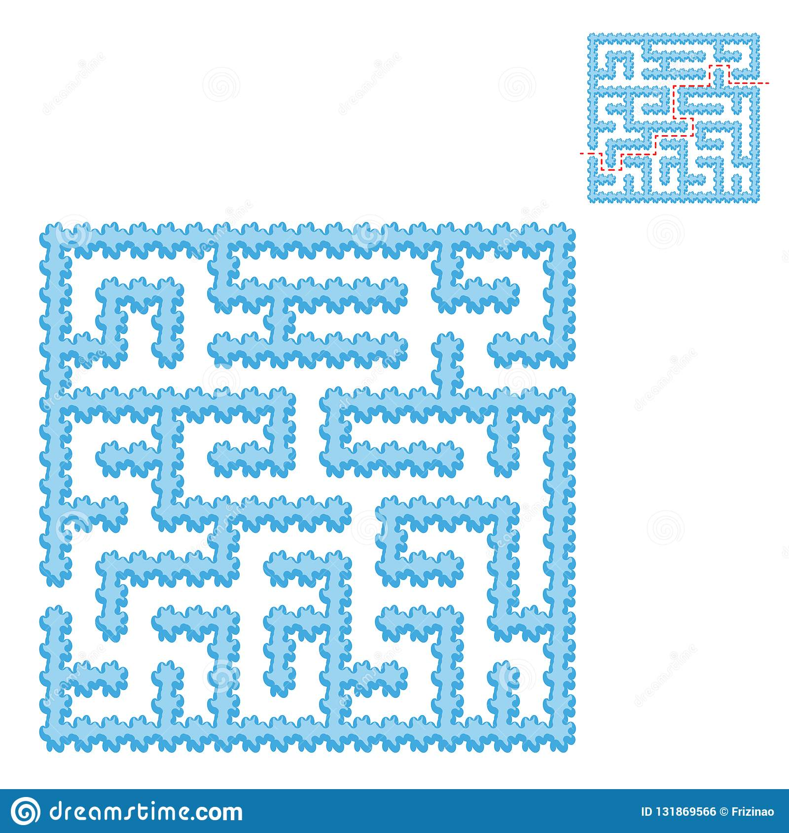 Blue Square Game