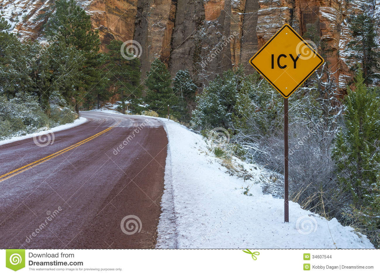 how to drive on icy roads video