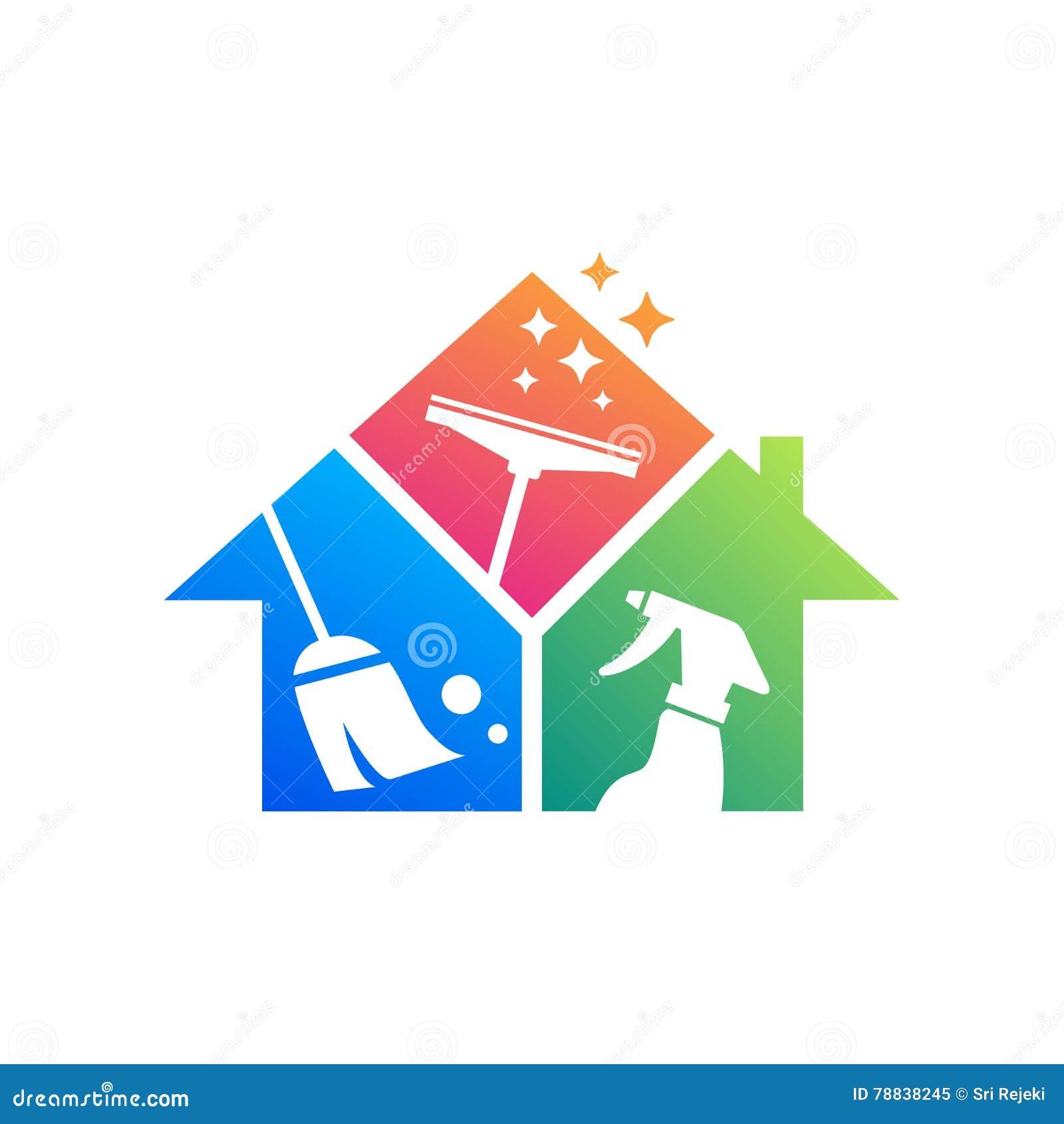 Id e de conception de logo de service de nettoyage calibre for Idee entreprise de service