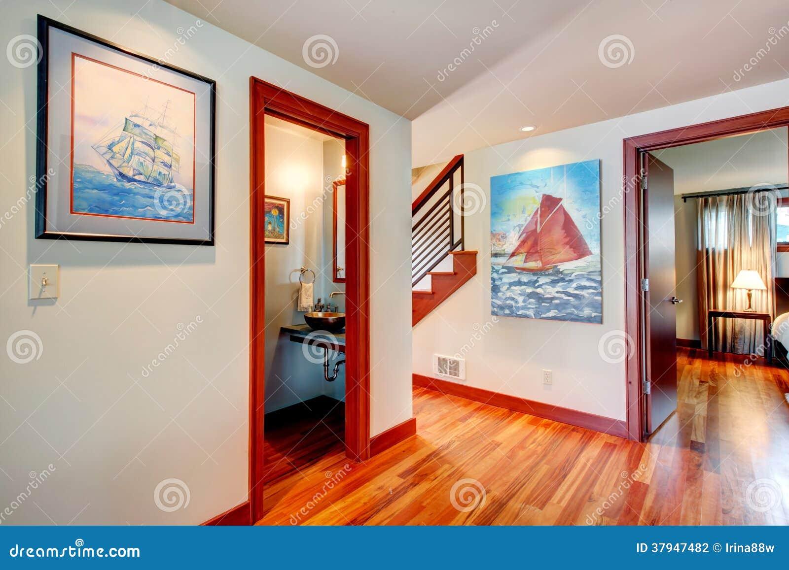 Idée De Conception Intérieure. Couloir Photo stock - Image ...