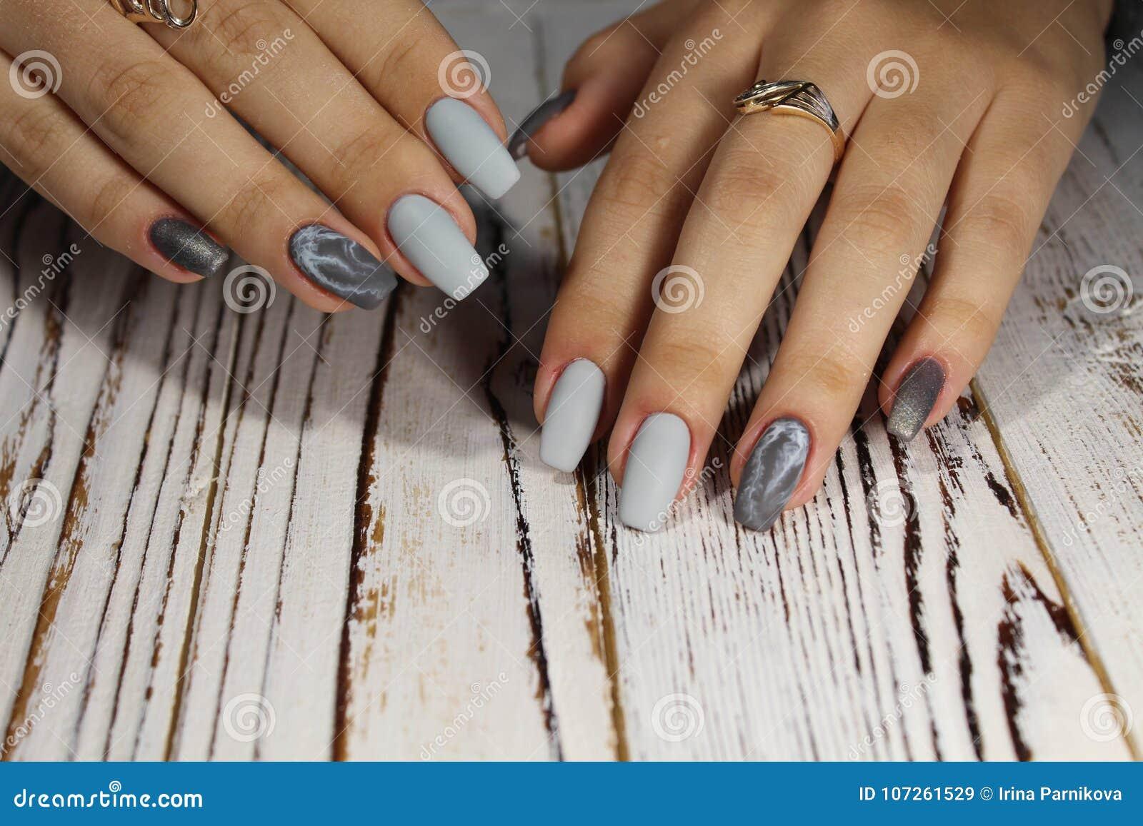 Idée Pour La Manucure Image Stock Image Du Couleur 107261529