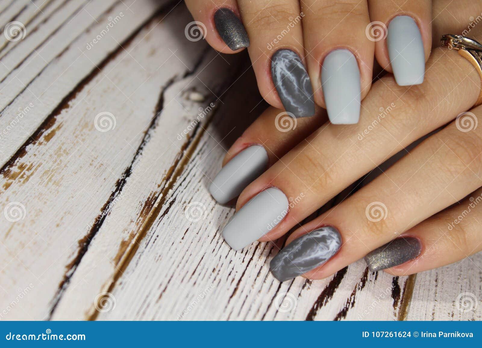 Idée Pour La Manucure Photo Stock Image Du Conception 107261624
