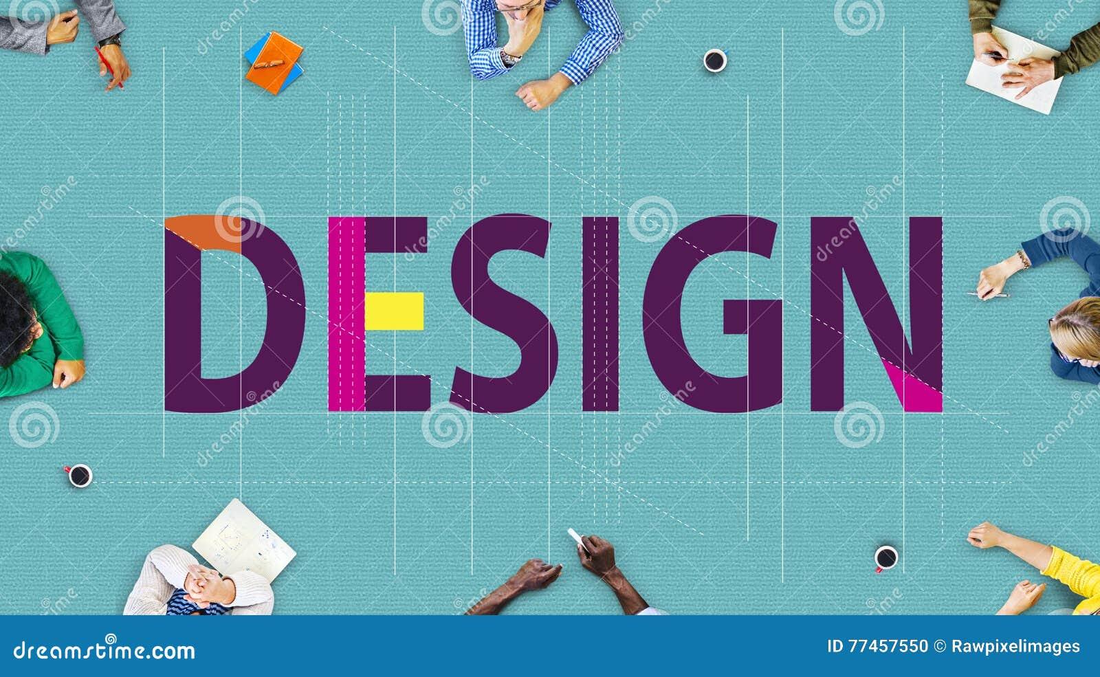Idées créatives d ébauche de conception prévoyant le concept de croquis topographique