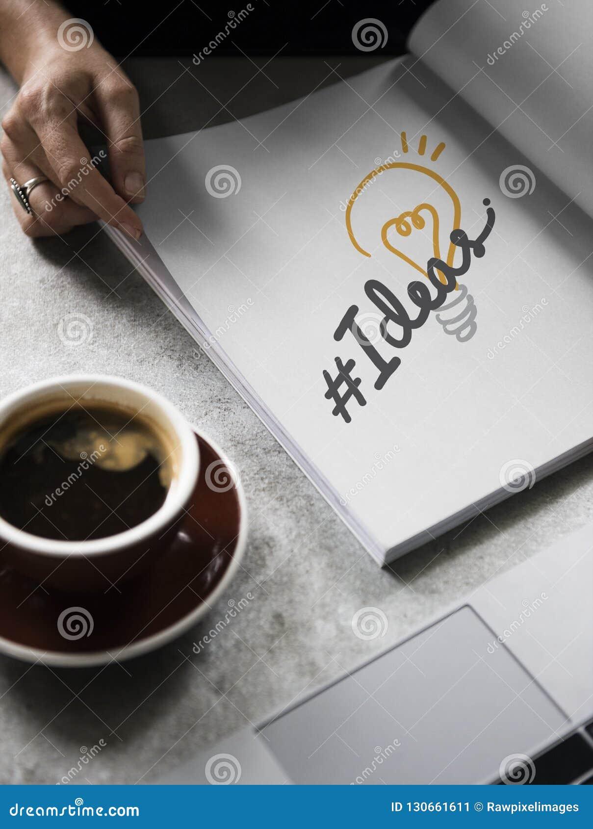 Idées de hashtag de Word sur un livre