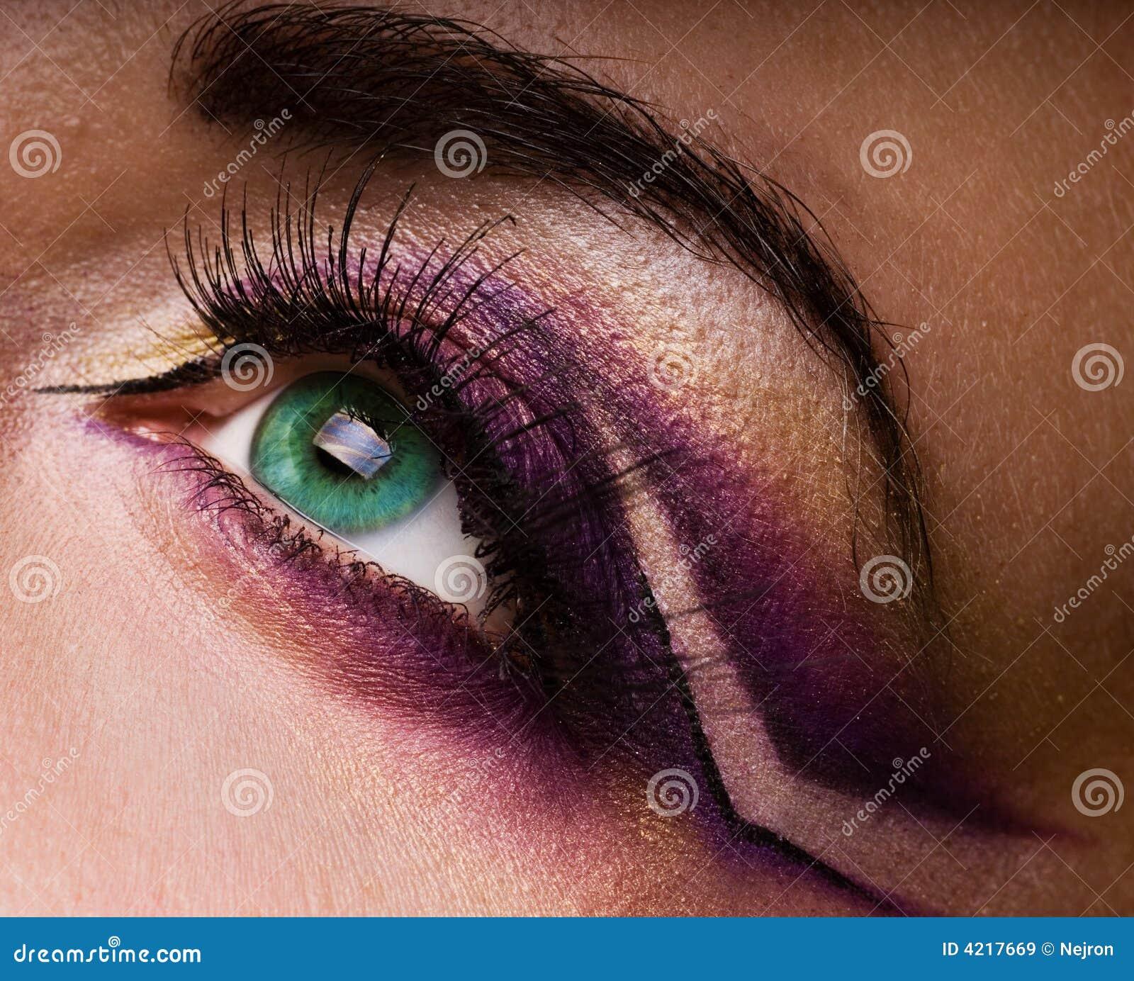Idérik ögonmålarfärg
