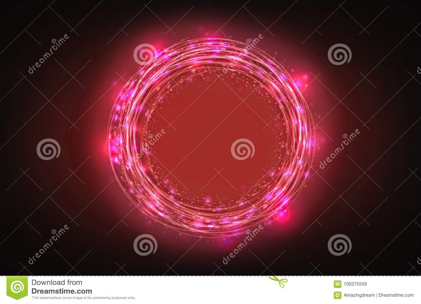 Idérik abstrakt teknologibakgrund, innovativt, idé och futuristiskt tänkande begrepp
