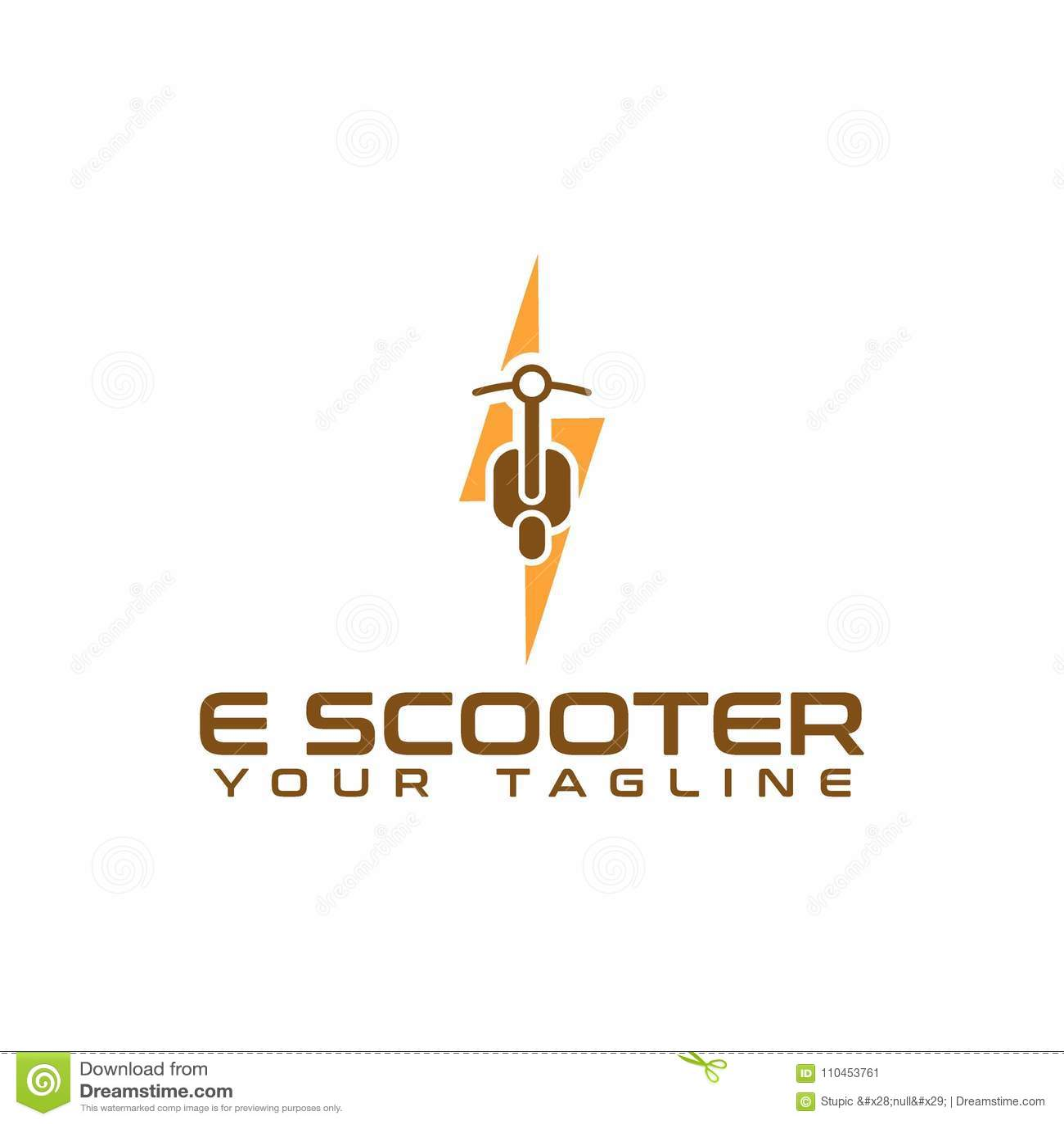 Idérik sparkcykel Logo Vector Art Logo