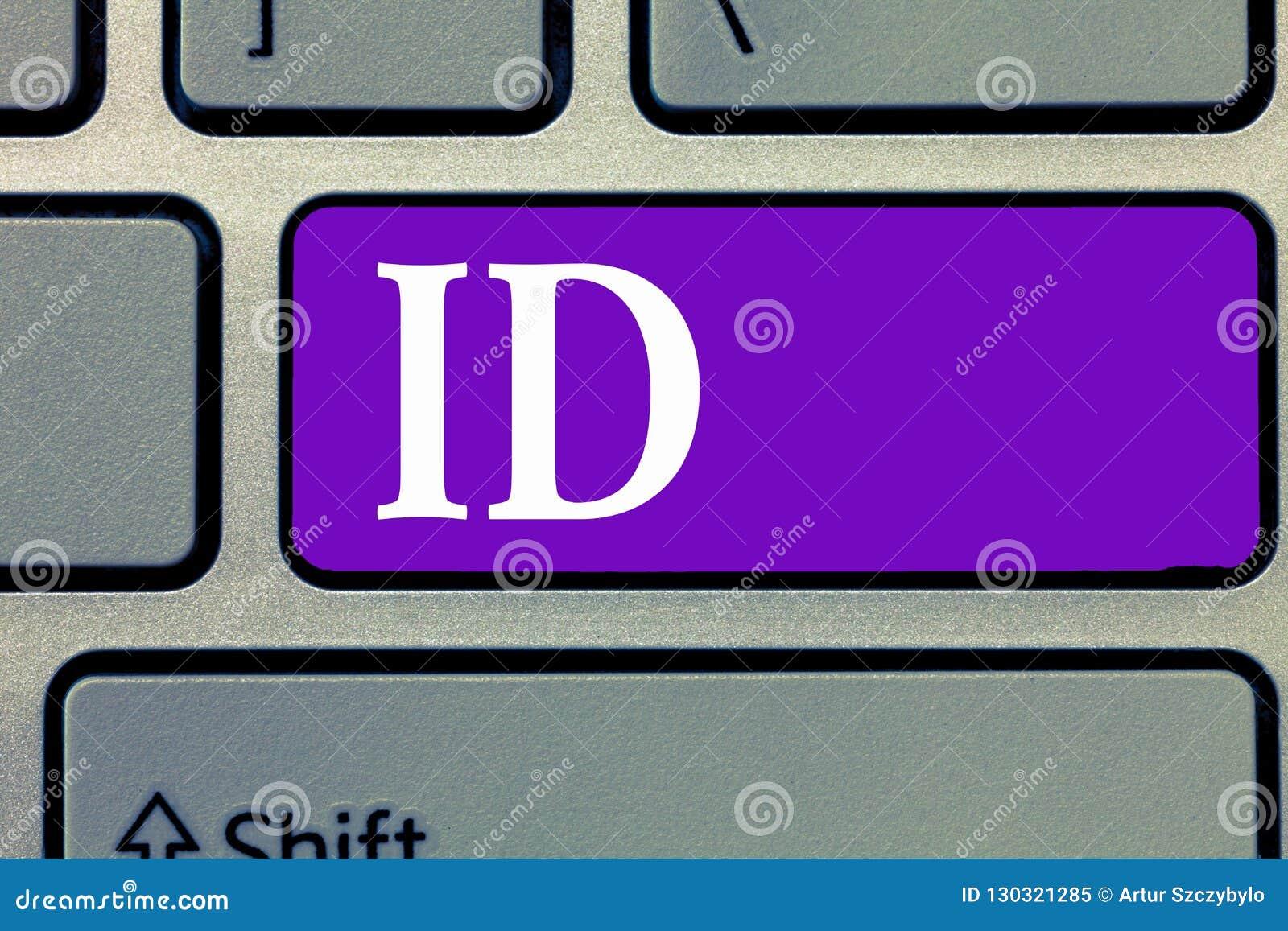 Id текста сочинительства слова Концепция дела для карточки или документа a которая служат определить демонстрируя документ, удост