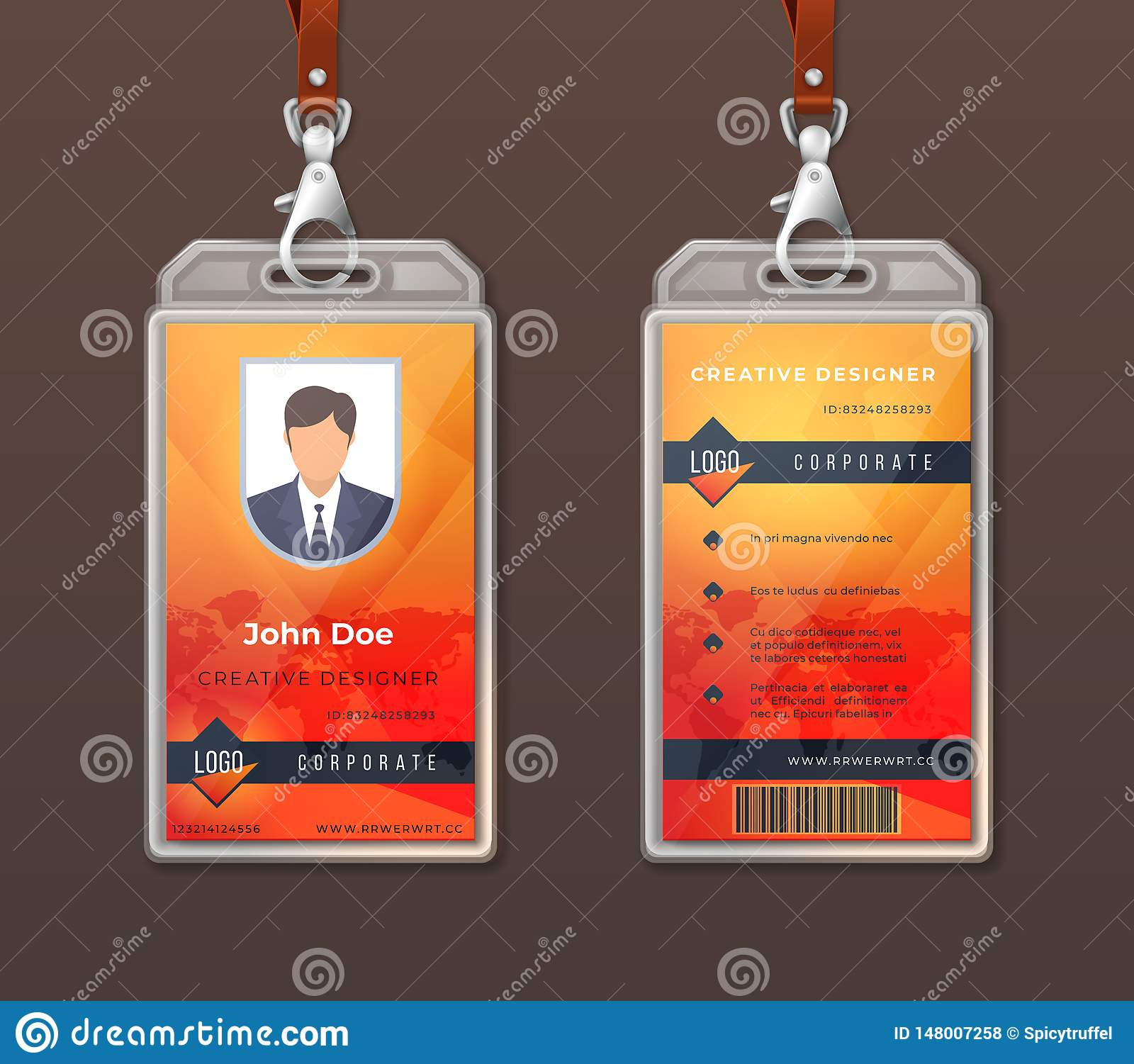 Employee Id Badge Stock Illustrations 1 272 Employee Id Badge Stock Illustrations Vectors Clipart Dreamstime
