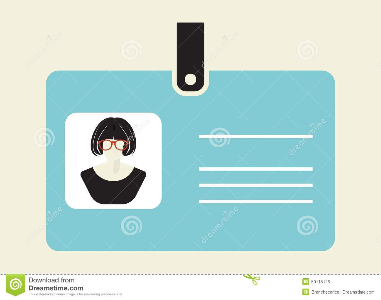 50115126 Vector - Id Stock Illustrations Of Card Icon Illustration