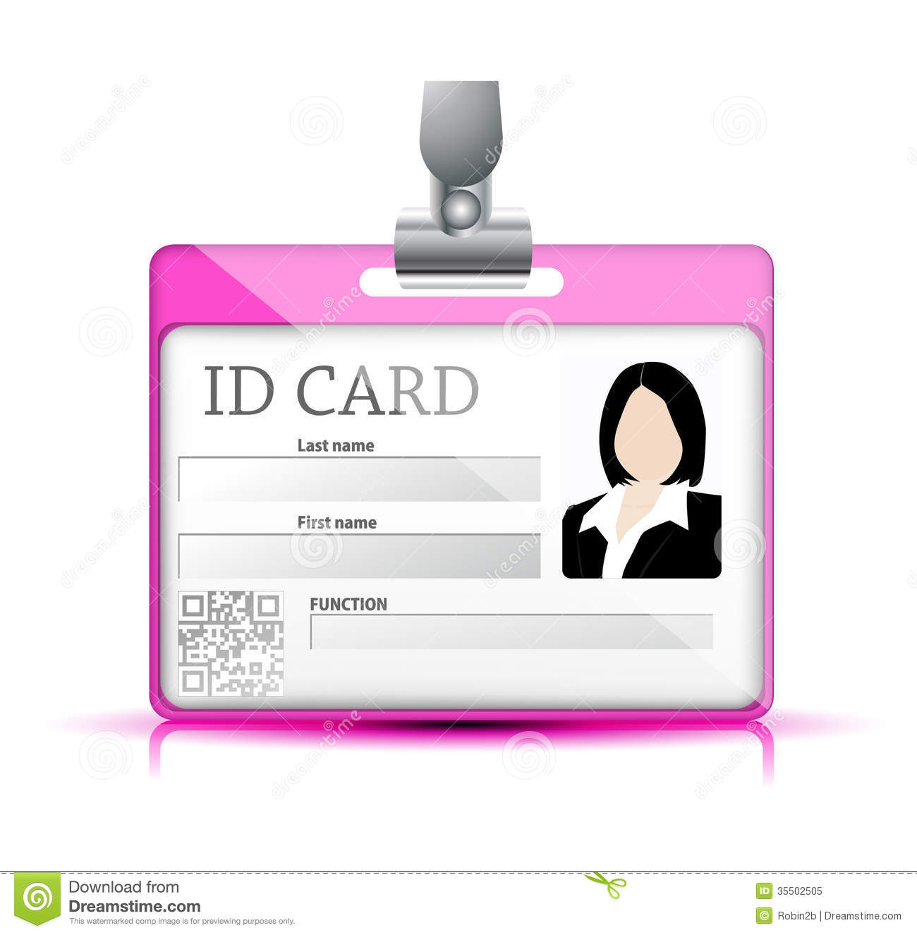 Id Card Royalty Free Stock Photo Image 35502505