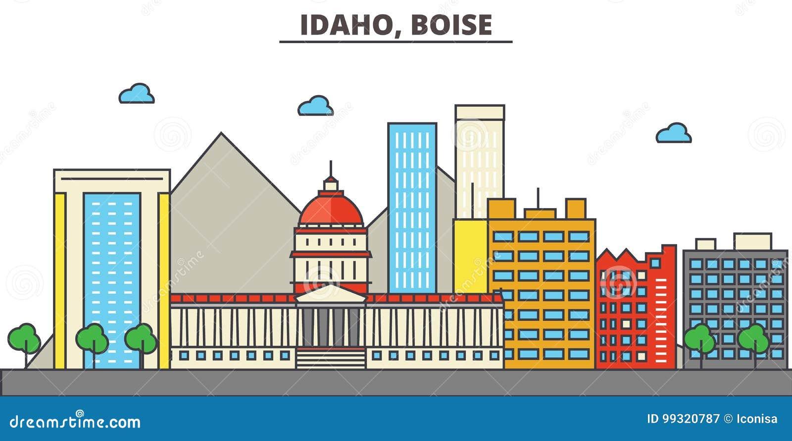 Idaho, Boise.City skyline
