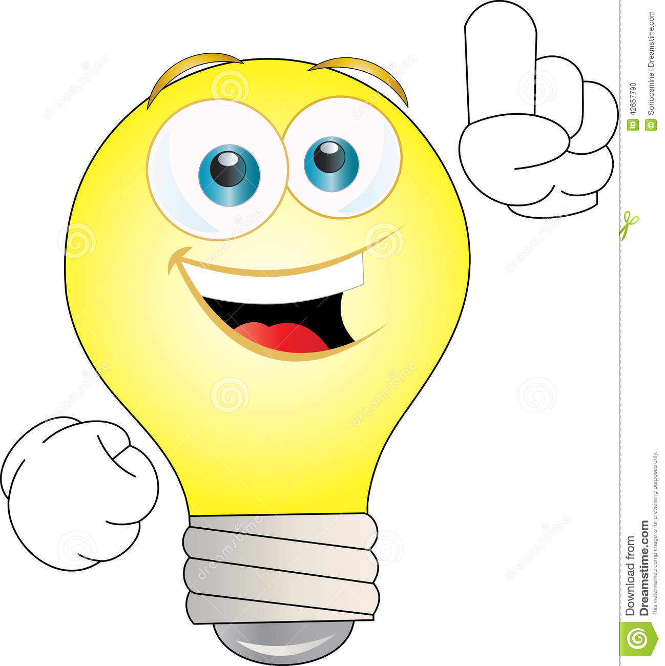 Idees And Solutions: Idea Bulb Stock Vector. Illustration Of Light, Bulb