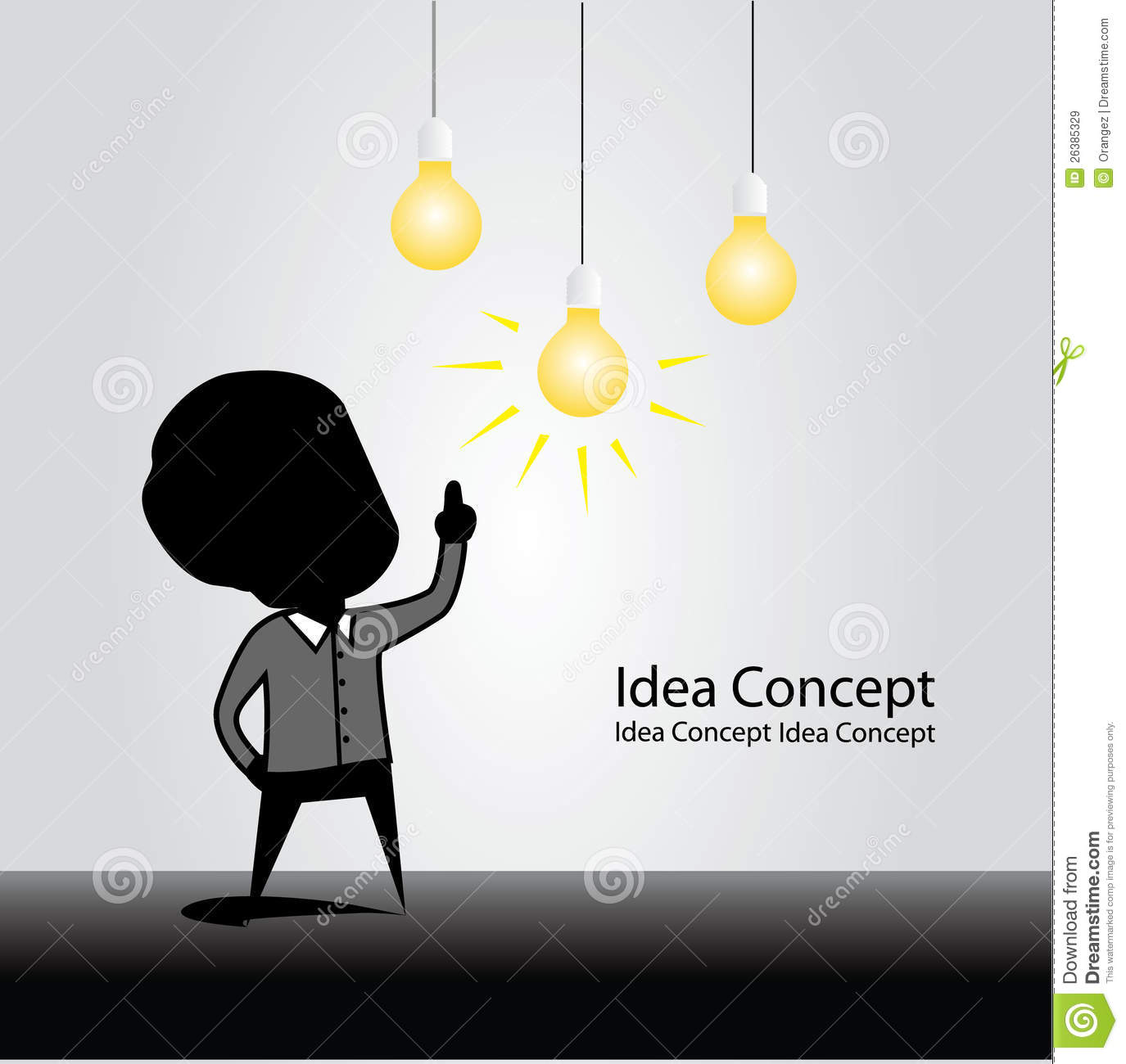 idea concept stock illustration illustration of drawing 26385329