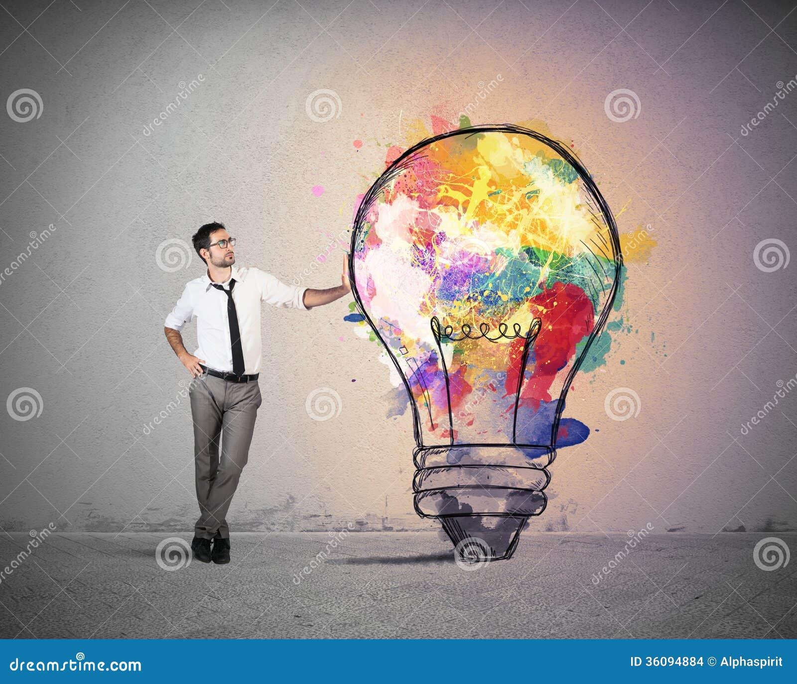 Idea creativa del negocio