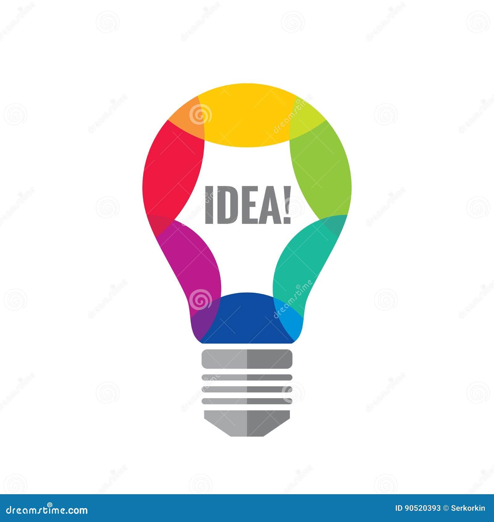 Idea creativa vector el ejemplo del concepto de la for Design ideas facebook