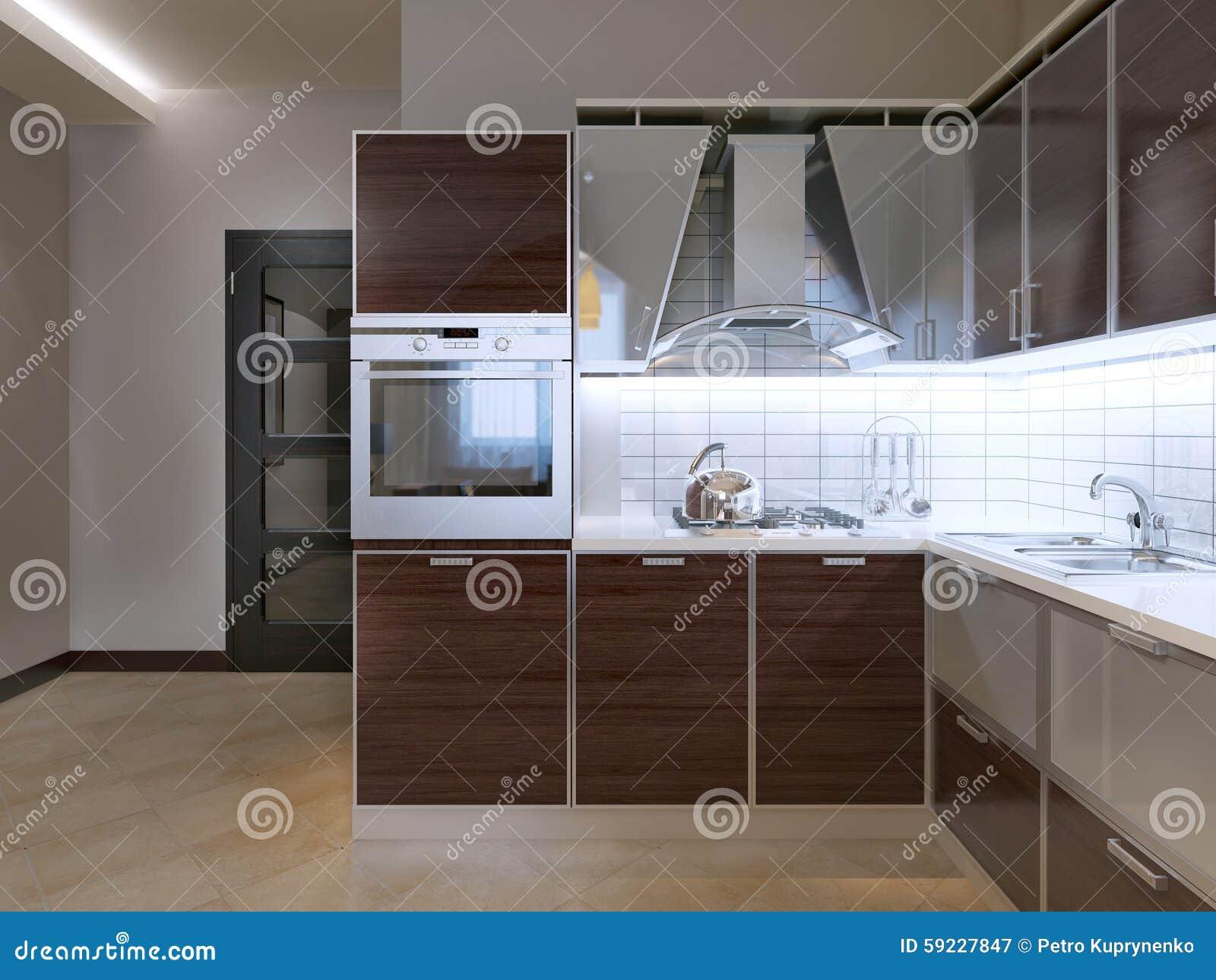 Idea de la cocina moderna
