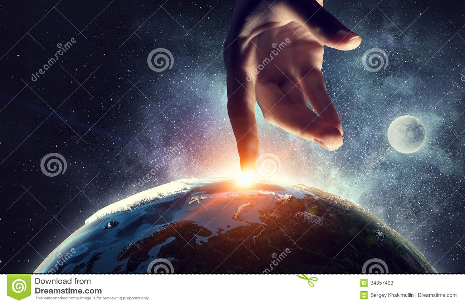 Idea de la creación de la tierra