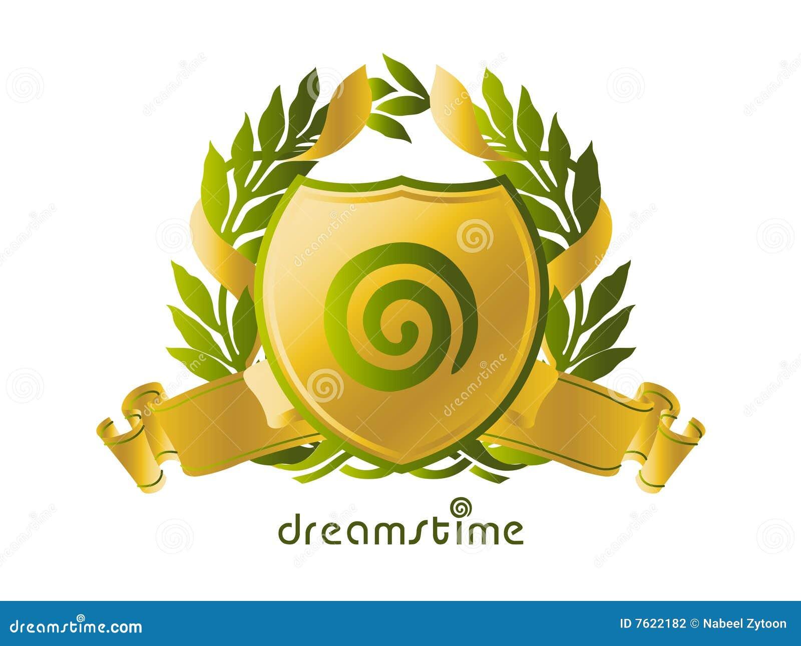 Idea de la insignia de Dreamstime