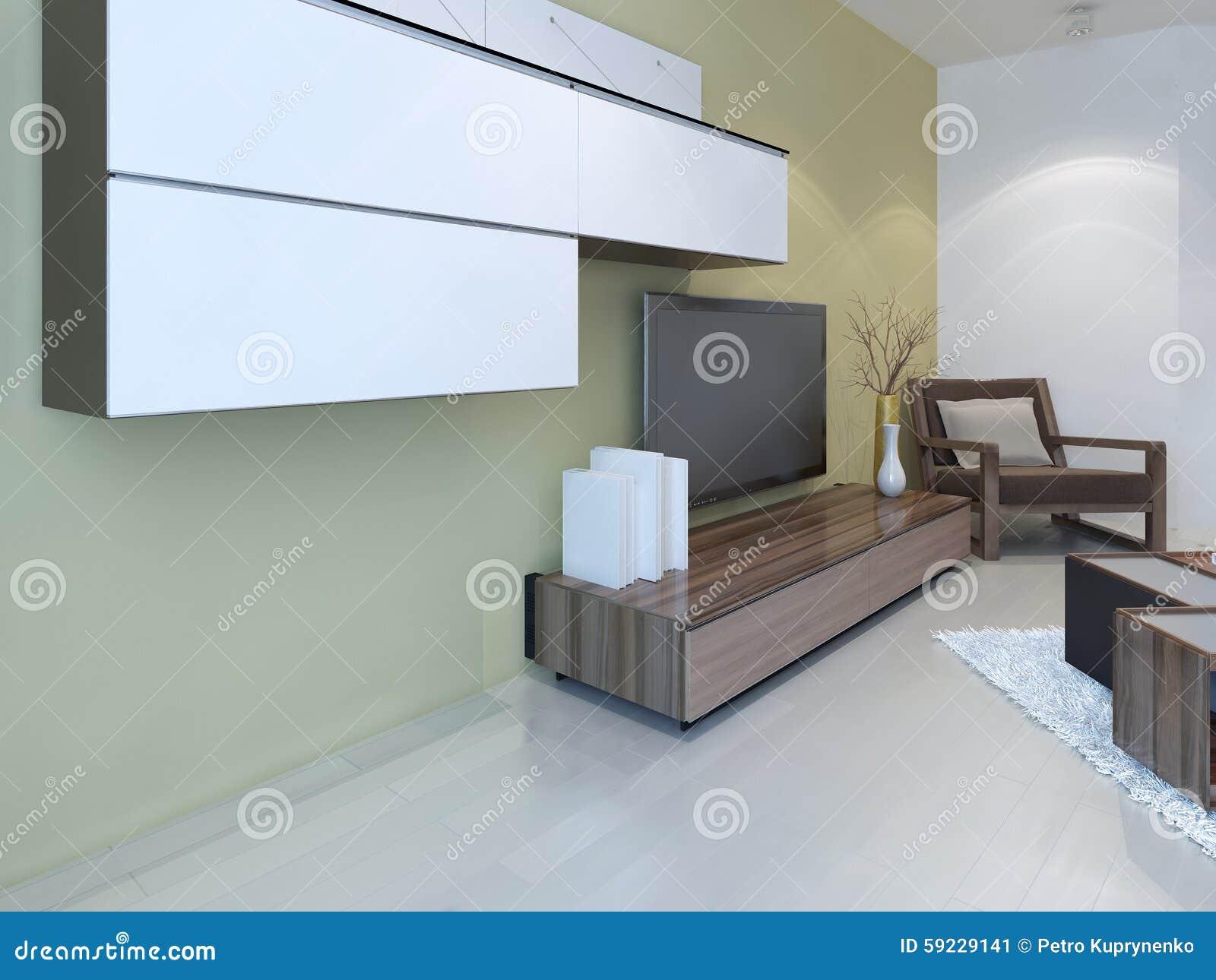 Idea de la sala de estar de la fusión