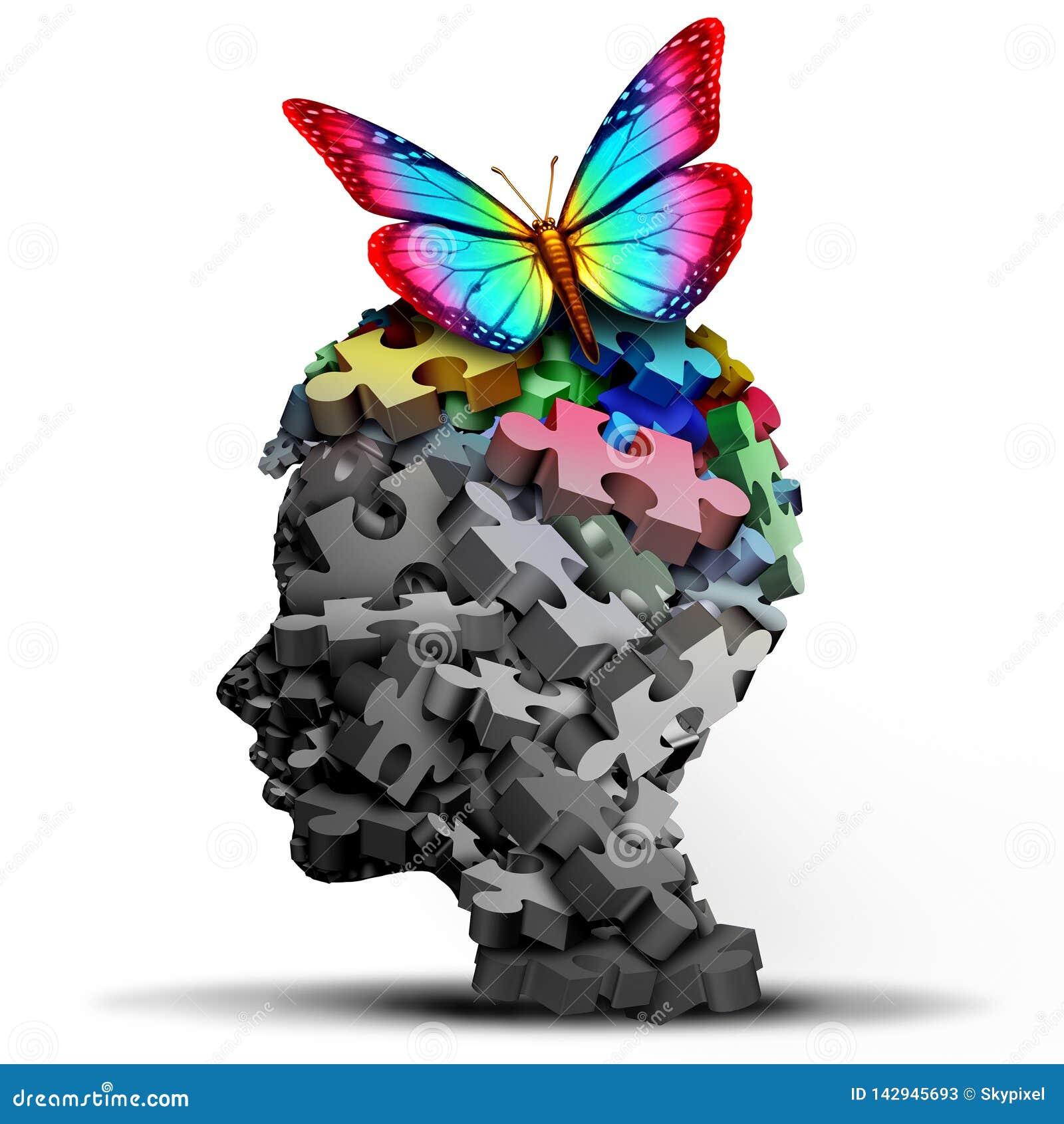 Idea del autismo y desorden de desarrollo autístico