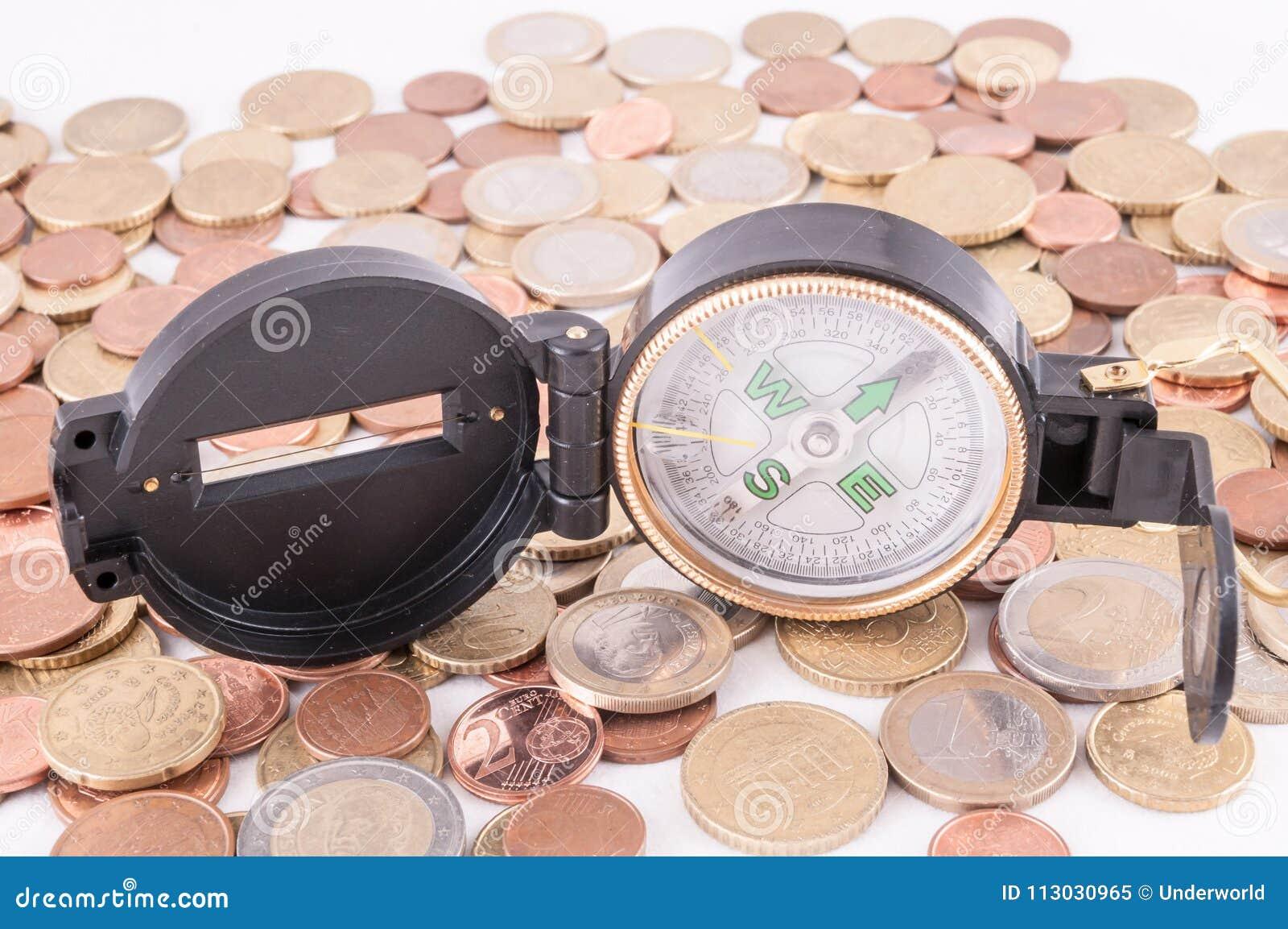Idea del concepto del dinero del negocio