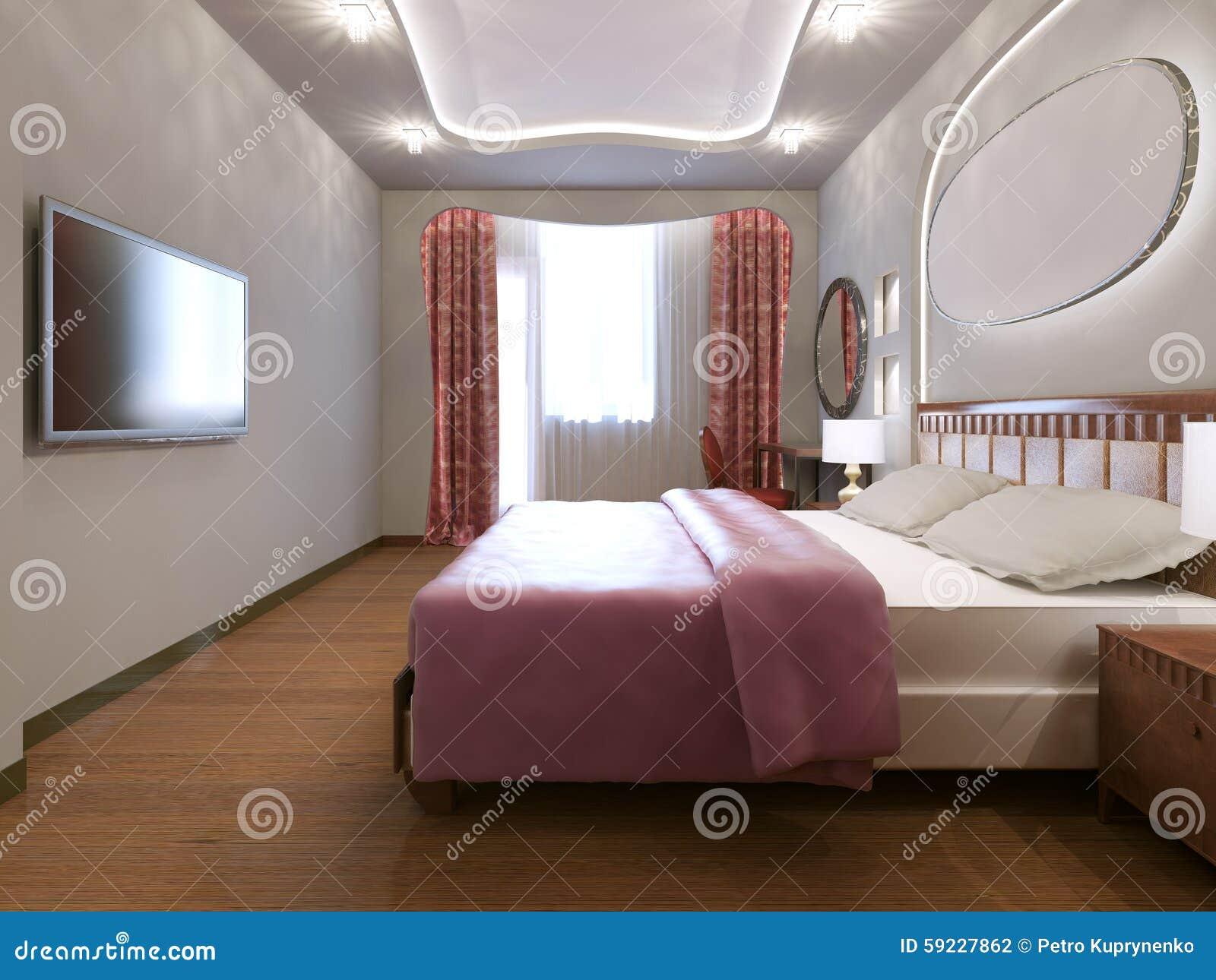 Download Idea Del Dormitorio Principal Ecléctico Stock de ilustración - Ilustración de diseño, fabuloso: 59227862
