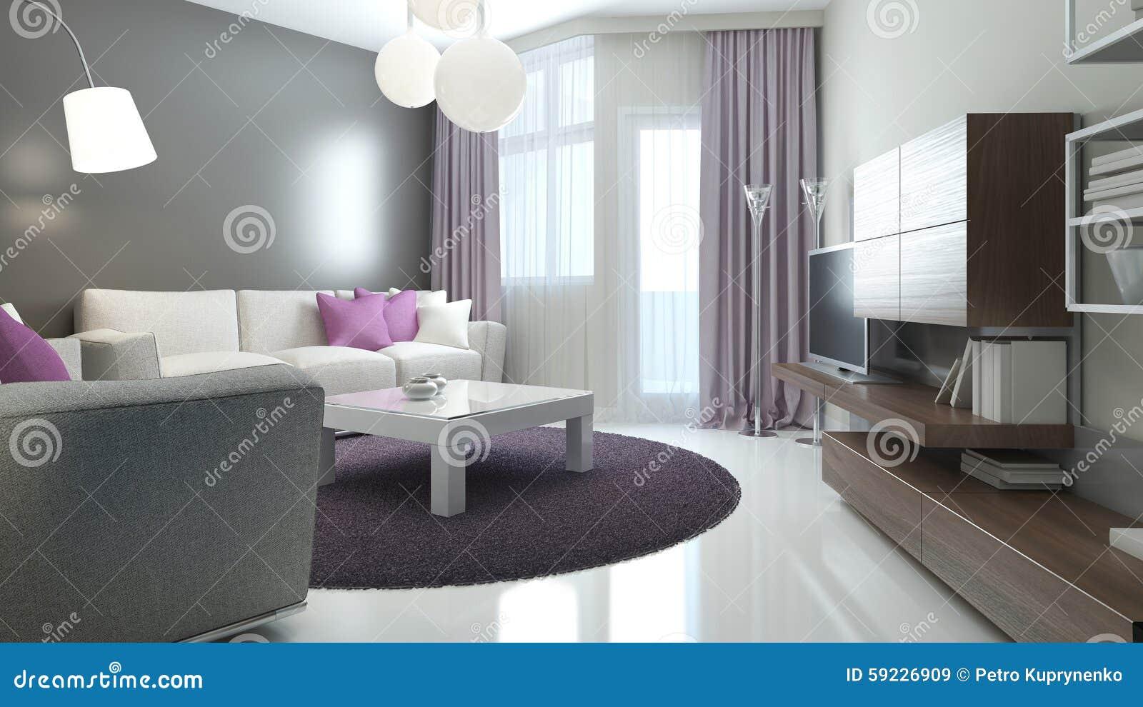 Idea del salón moderno