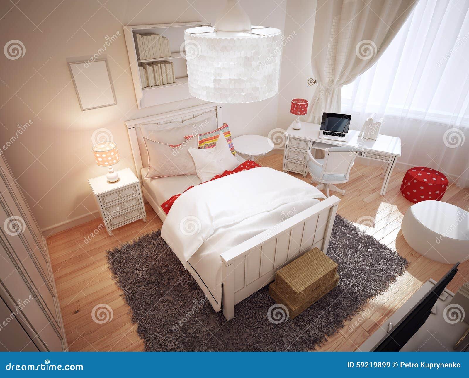 Camere Da Letto Art Deco : Idea della camera da letto di art deco immagine stock immagine