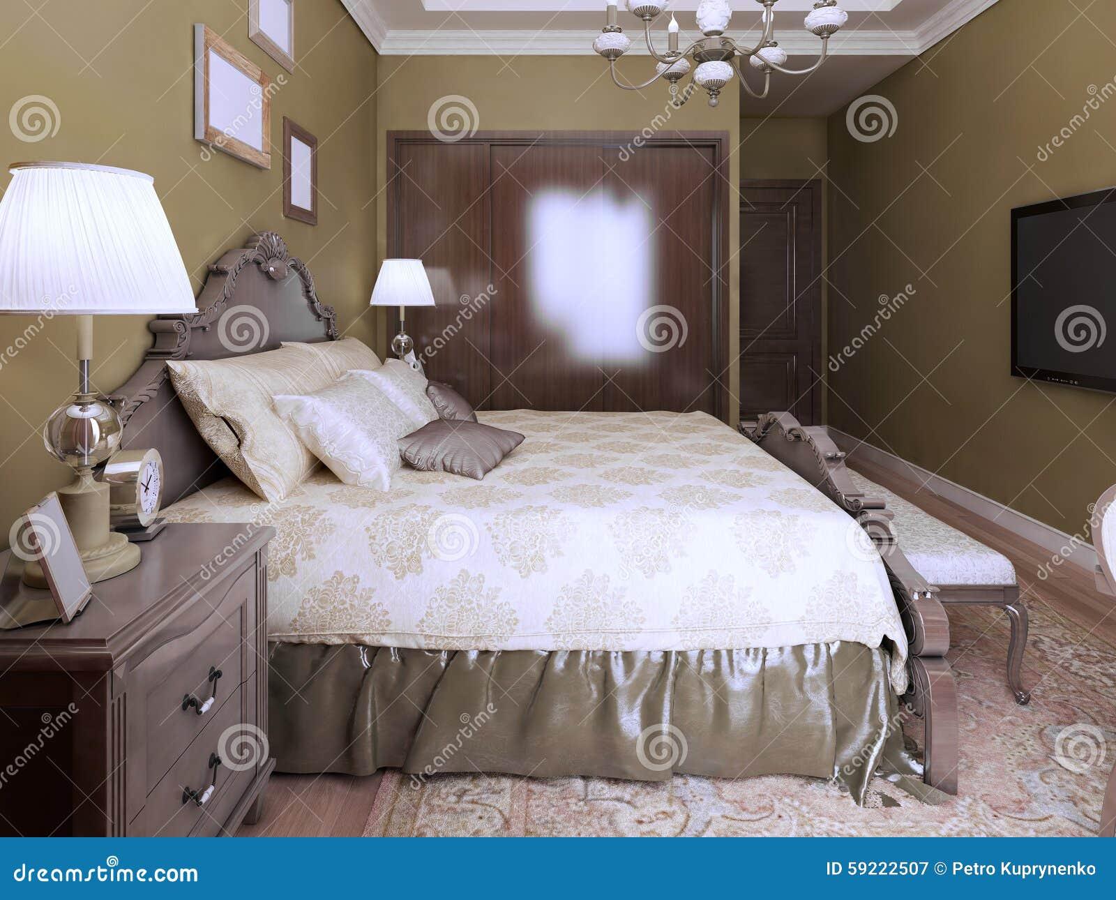 Idea di stile moderno di inglese della camera da letto - Camere da letto stile inglese ...