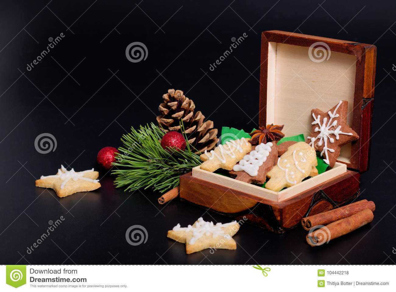 Idea DIY Do It Yourself New Year And Christmas Gift Concept Butter ...