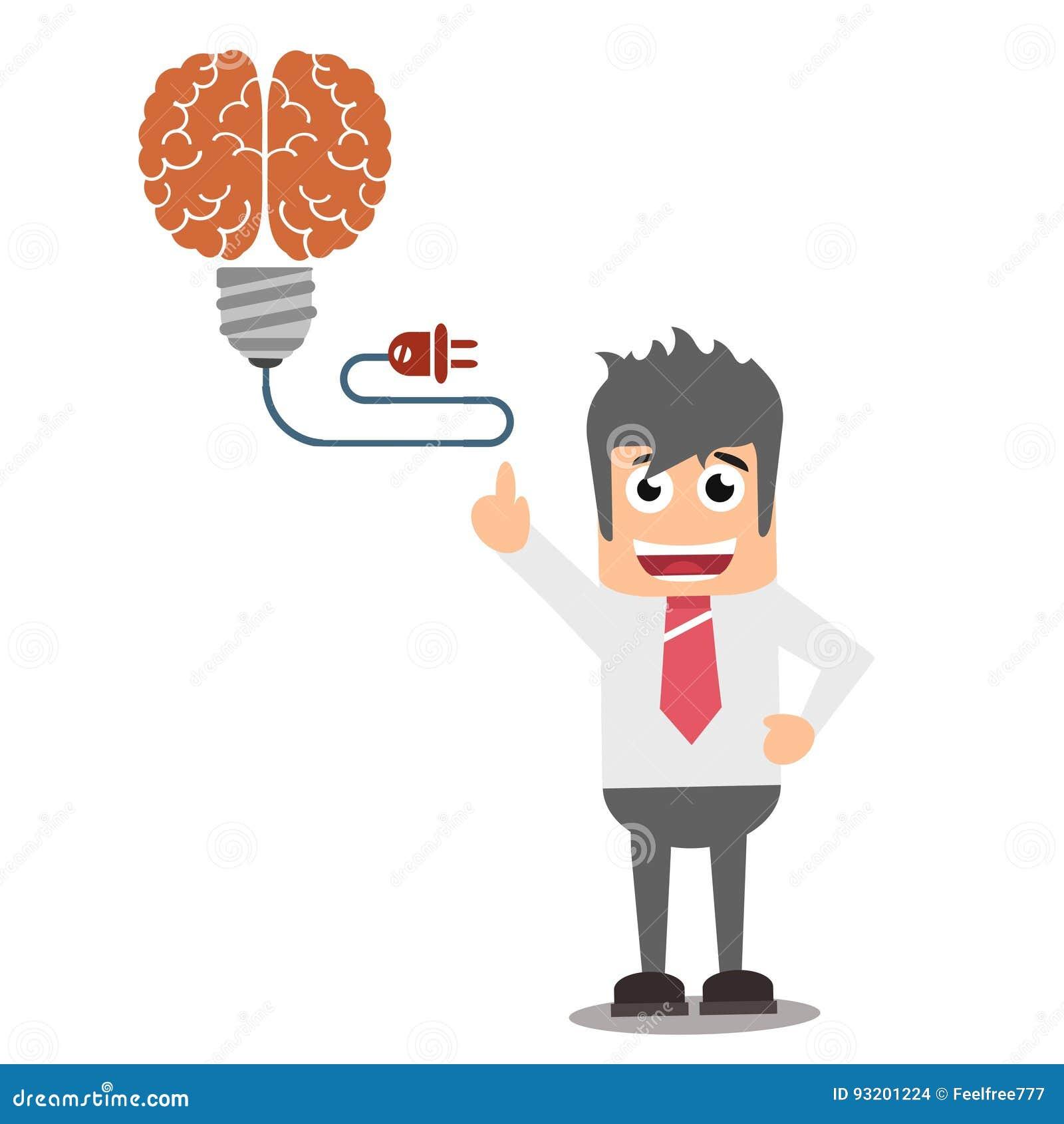 Idea Generator Concept Stock Illustration Illustration Of