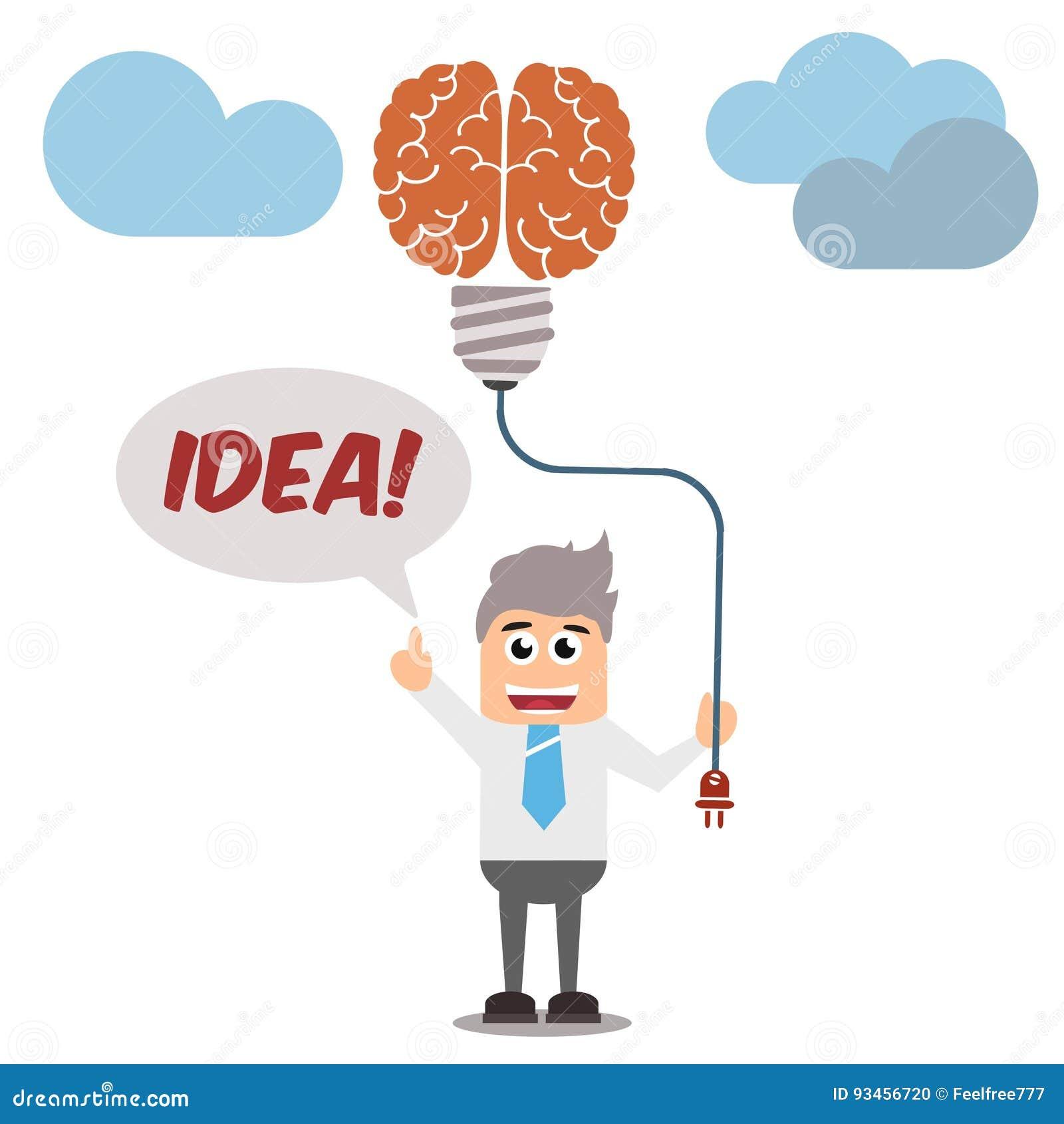 Idea Generator Concept Stock Vector Illustration Of Image