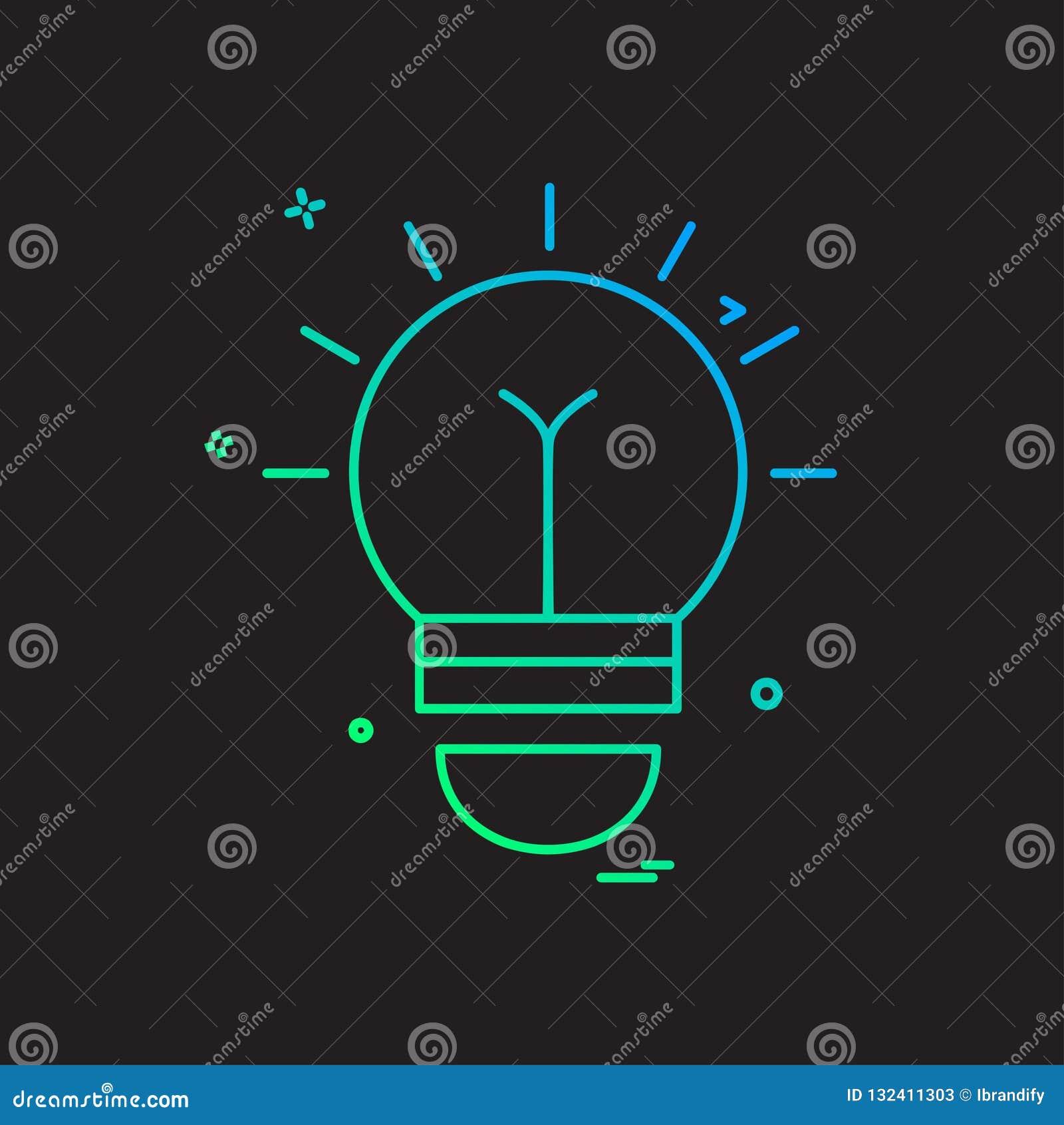 Creative Ideaicon:  Idea Icon Design Vector Stock Vector. Illustration Of