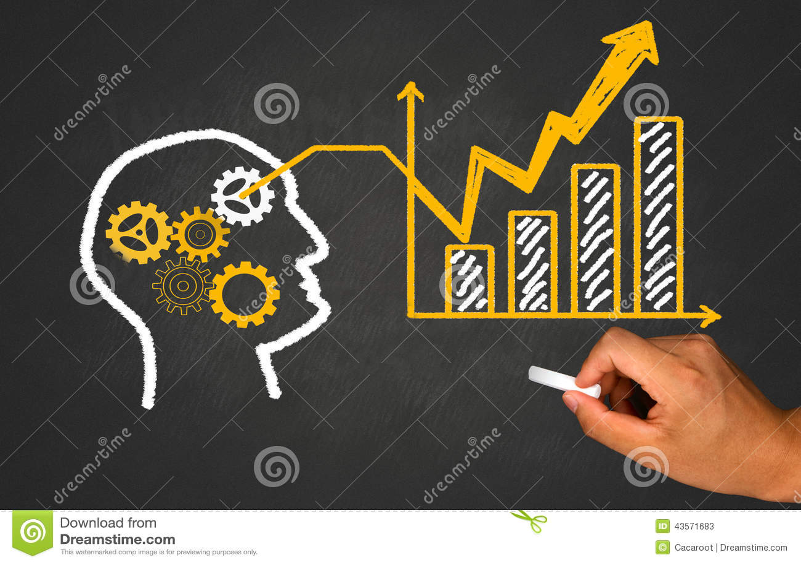 Idea, teamwork and business concept