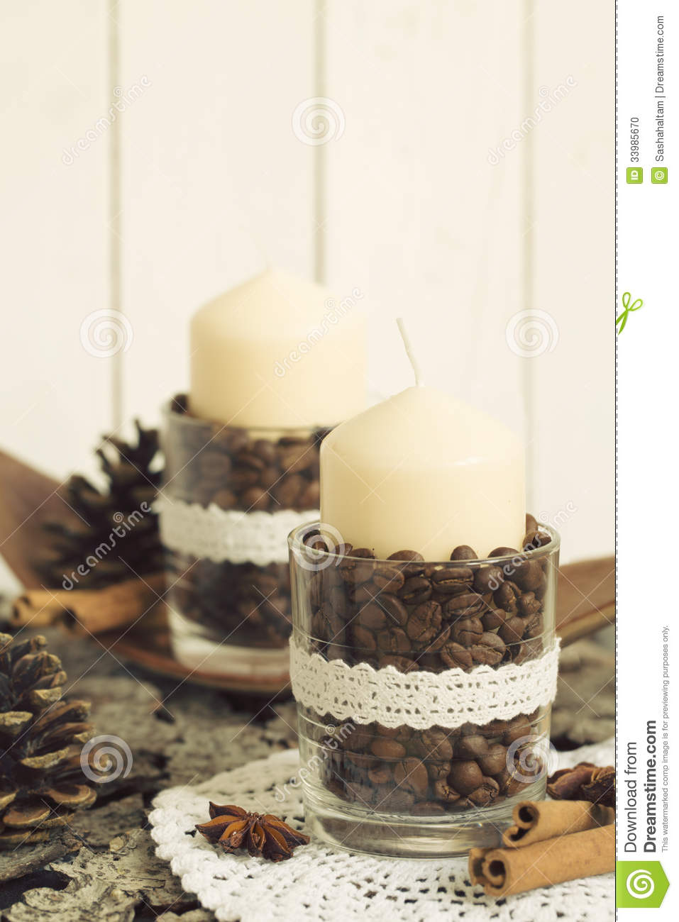 Ideas For Christmas Decoration Stock Photo Image 33985670
