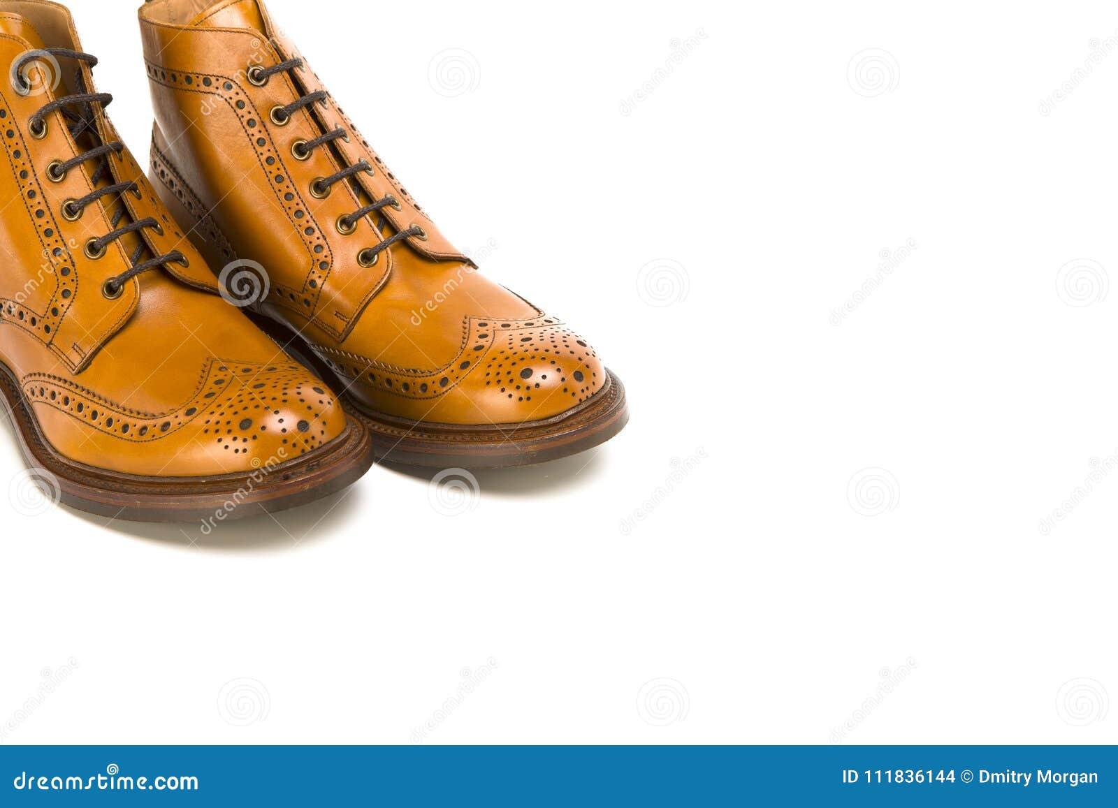 Ideas del calzado Primer de pares de abarca bronceada premio Derby