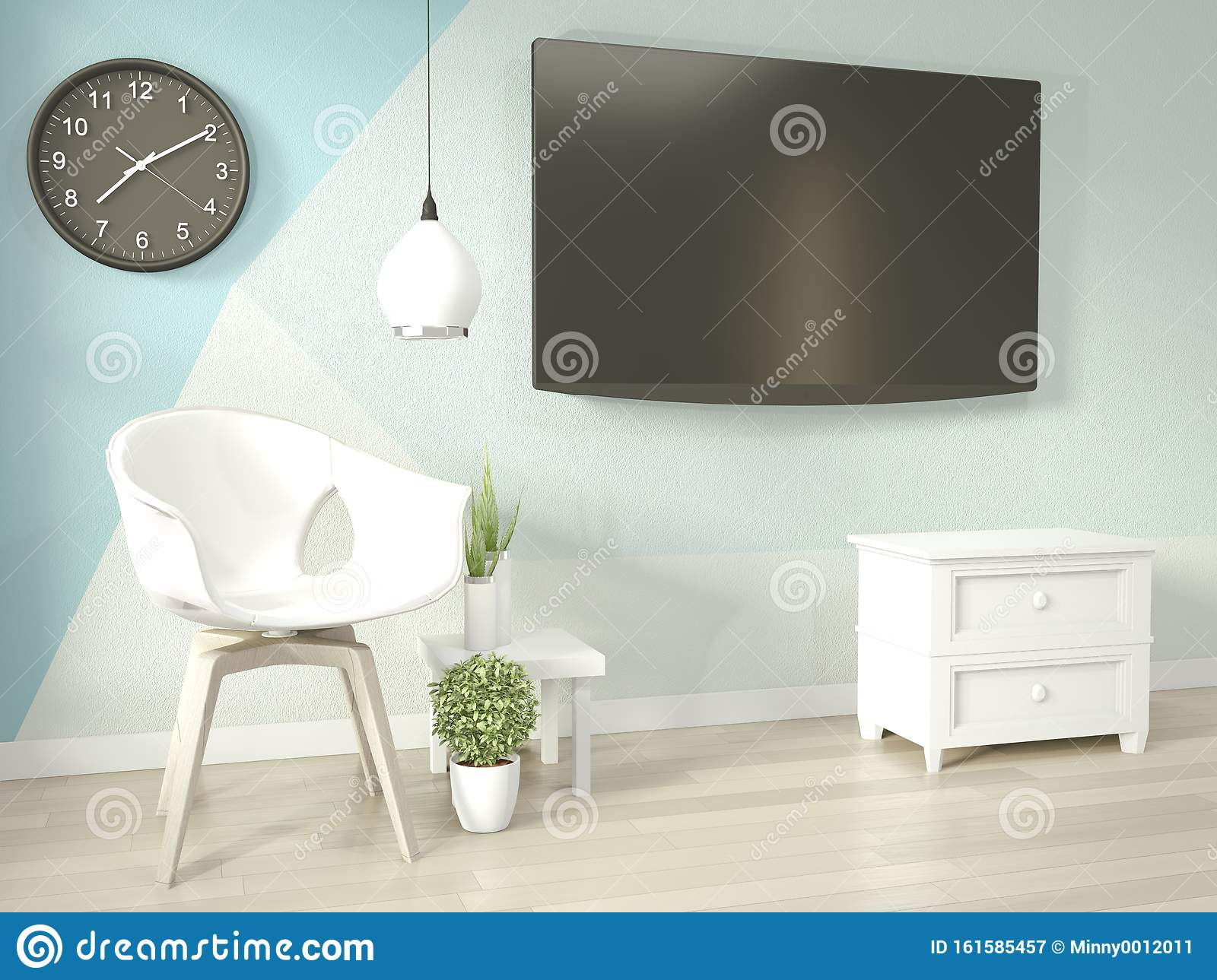 Interior Ideas Of Light Blue And White Living Room Geometric Wall Art Paint Design Color Full Style On Wooden Floor 3d Rendering Stock Illustration Illustration Of House Ideas 161585457,Stamped Concrete Driveway Designs