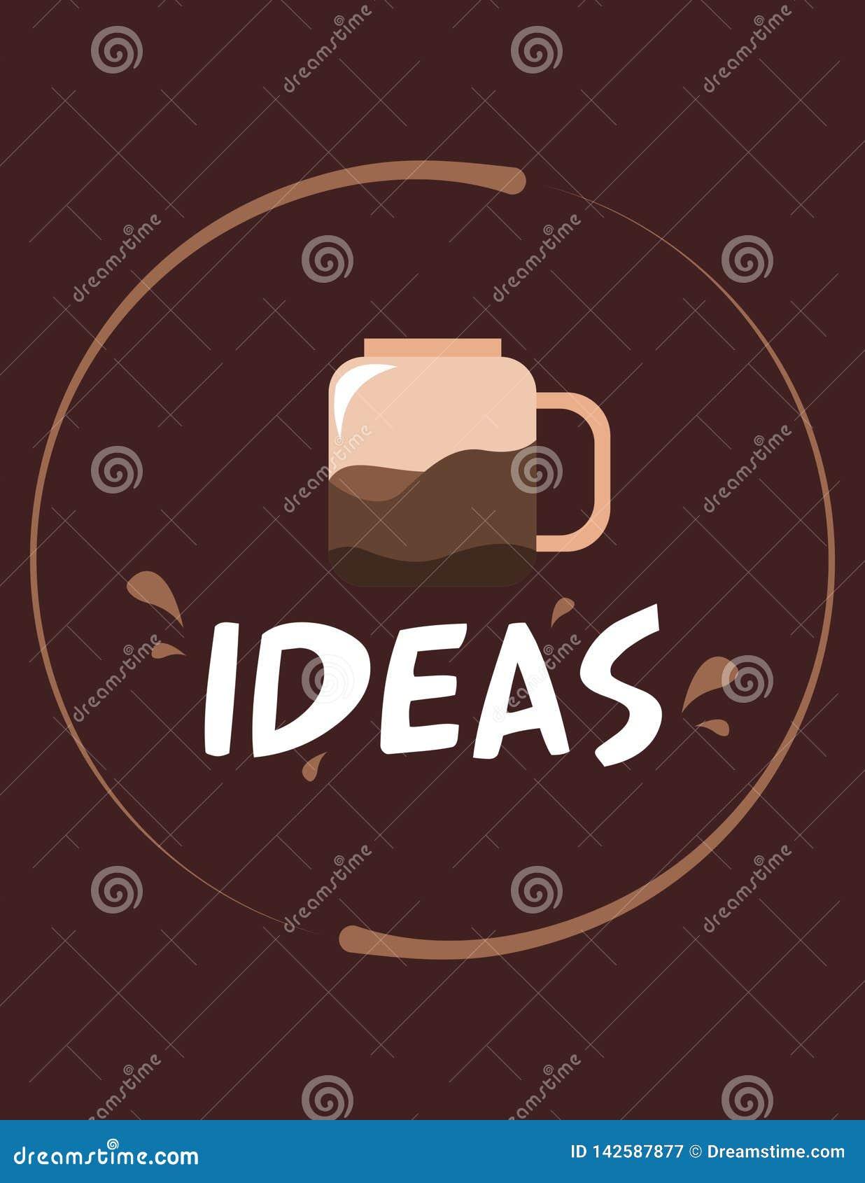 Ideeënkoffie Bruine Sweety