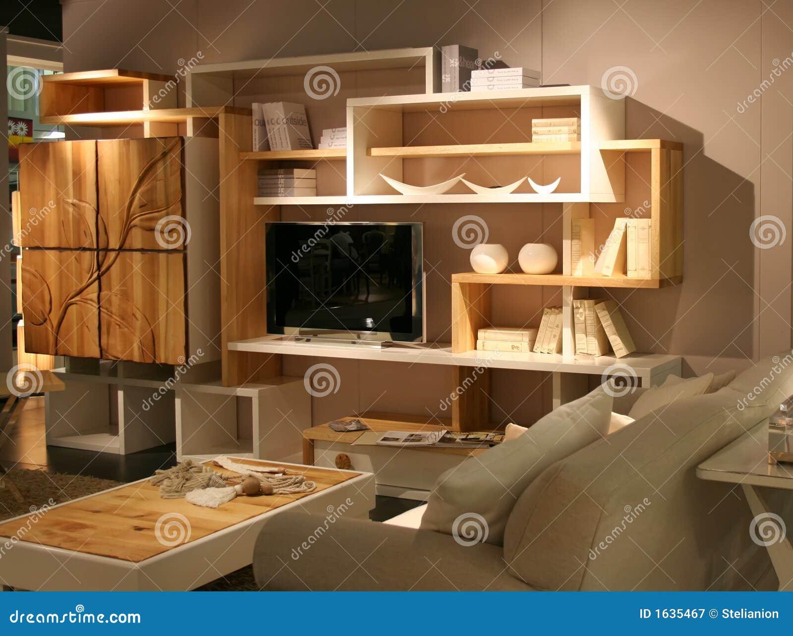 Idee di decorazione del salone fotografia stock libera da for Idee salone