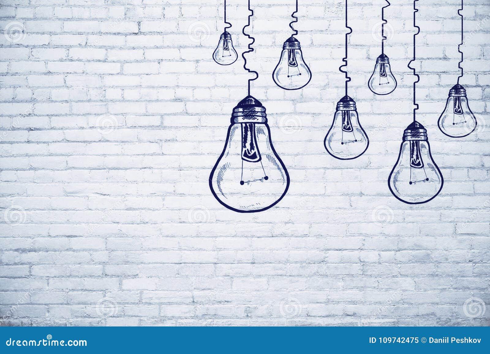 Idee, innovatie en voltooiingsconcept