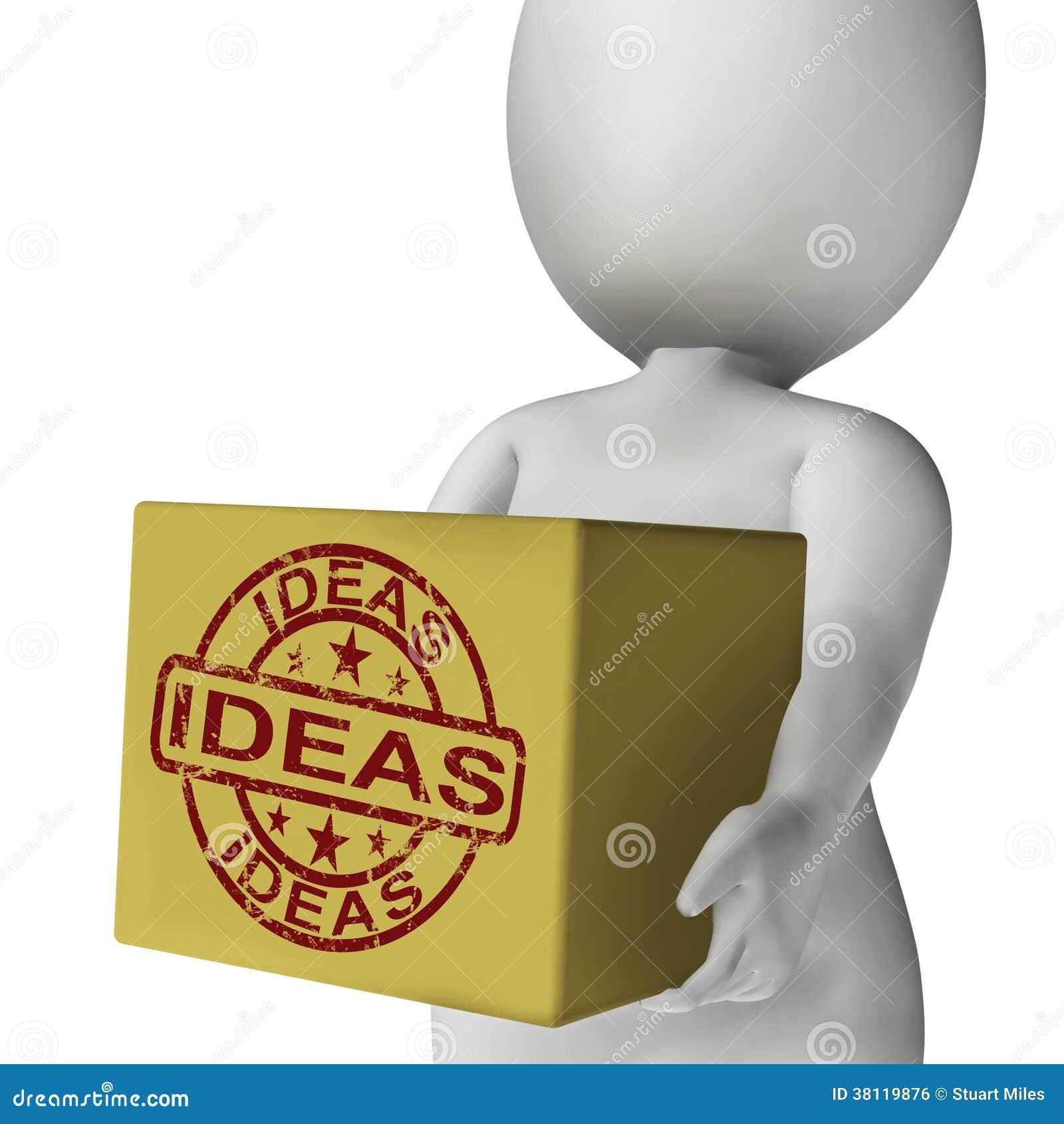 Ideen Kasten Dendurchschnitte Anspornen Erneuern Und Planen Stock